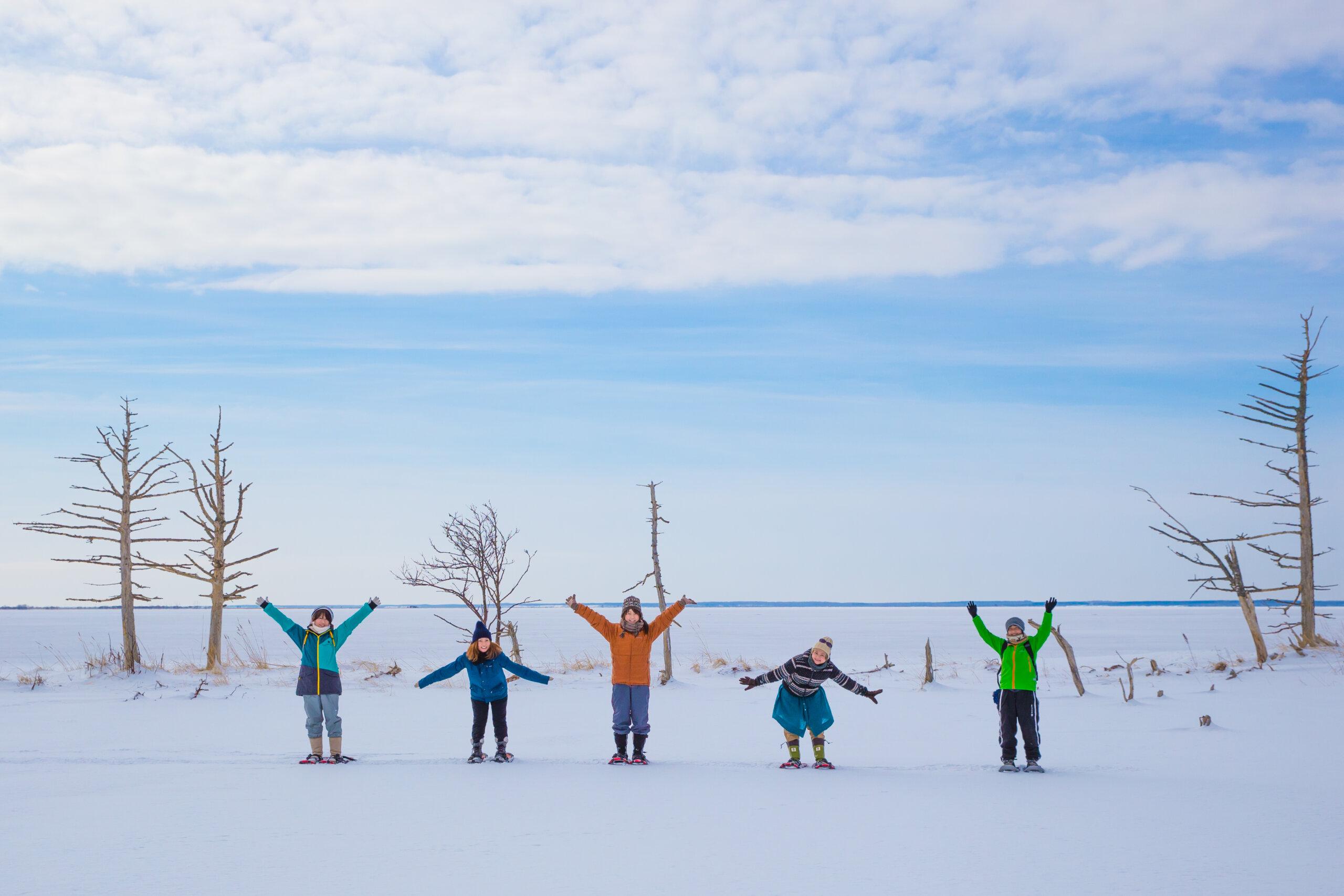 野付半島出發冰平線漫步之旅