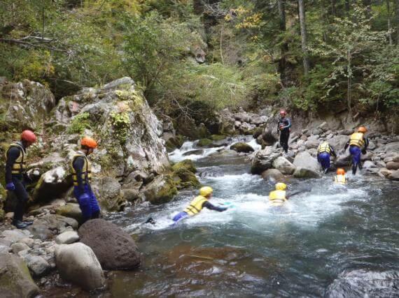 南富良野峽谷漂流體驗(中級課程)