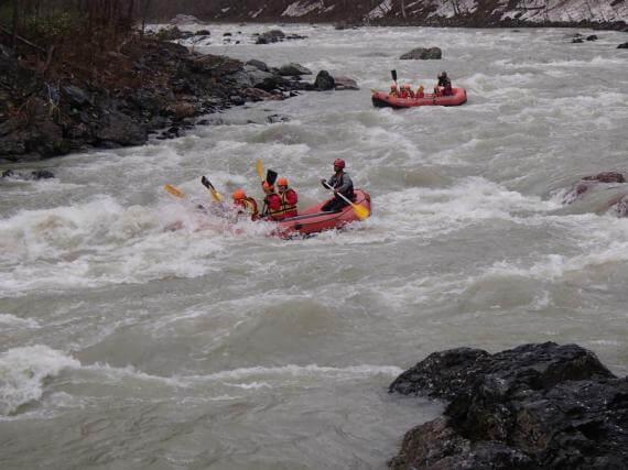 北海道第一急流鵡川泛舟體驗