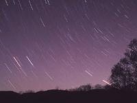 享受冬季富良野的夜間美景