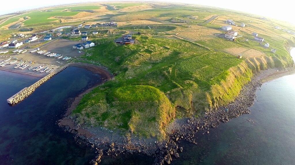昔日愛努人留下的堡壘遺跡「群根室半島砦跡群」