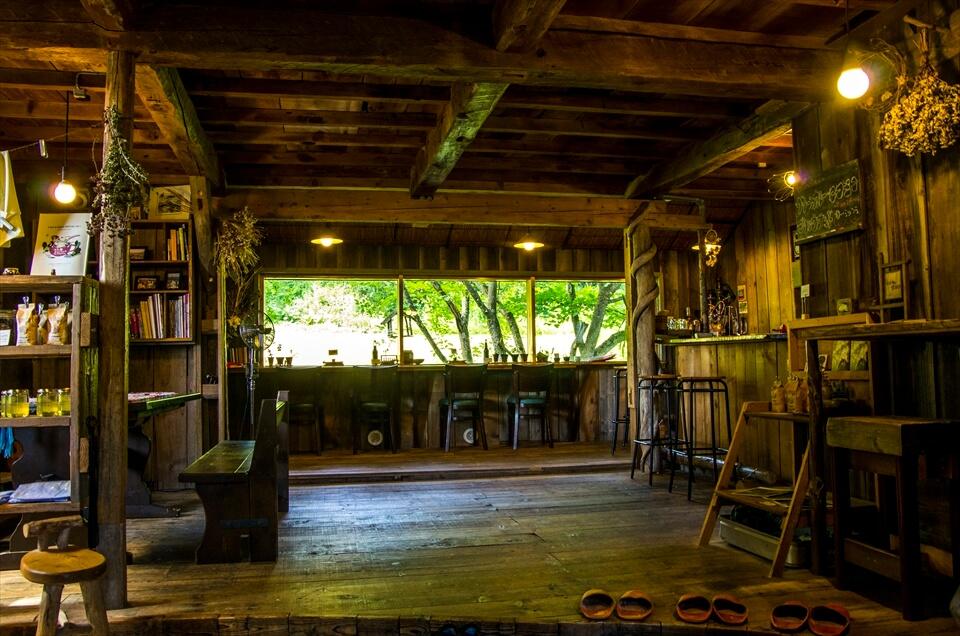 富良野古民家咖啡廳「cafe Goryo」