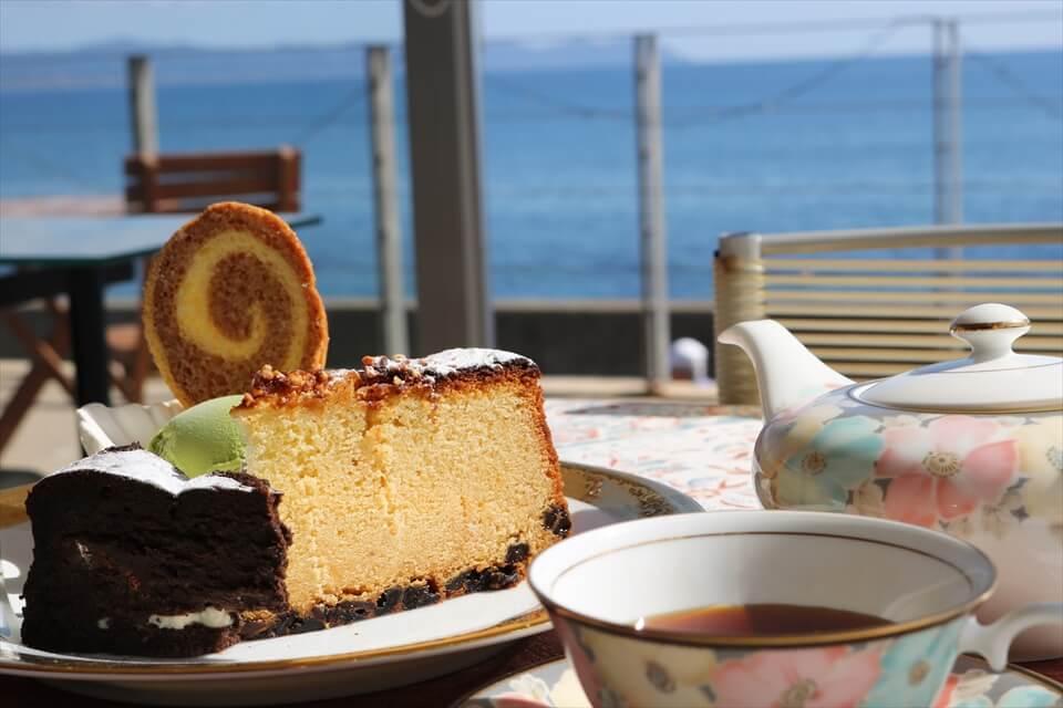 Café LAMINAIRE:津輕海峽景色是最棒的調味料
