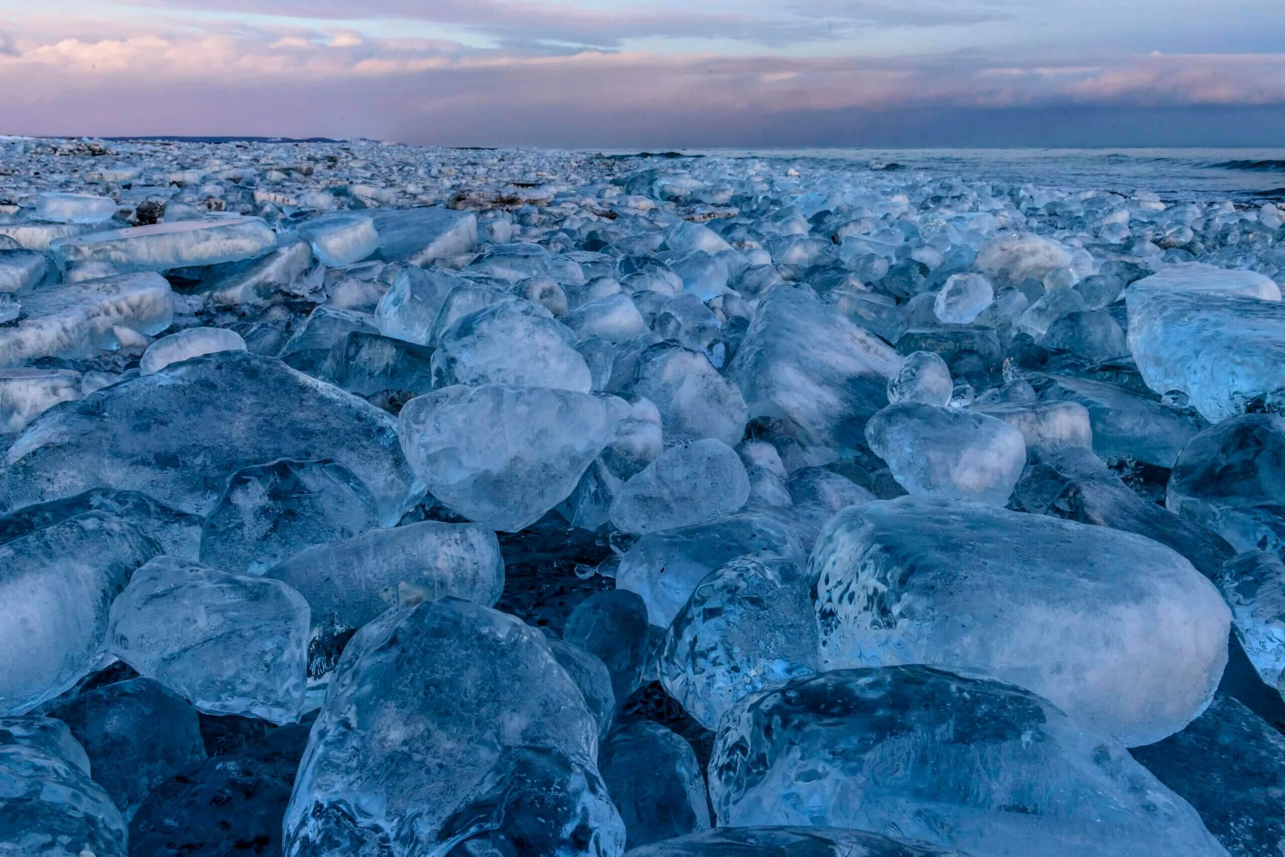 大津海岸:冰之寶石