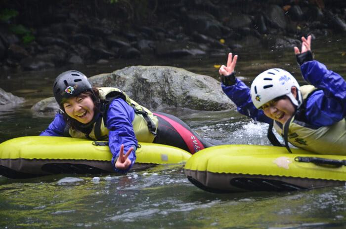 十勝川充氣浮板水上漂流