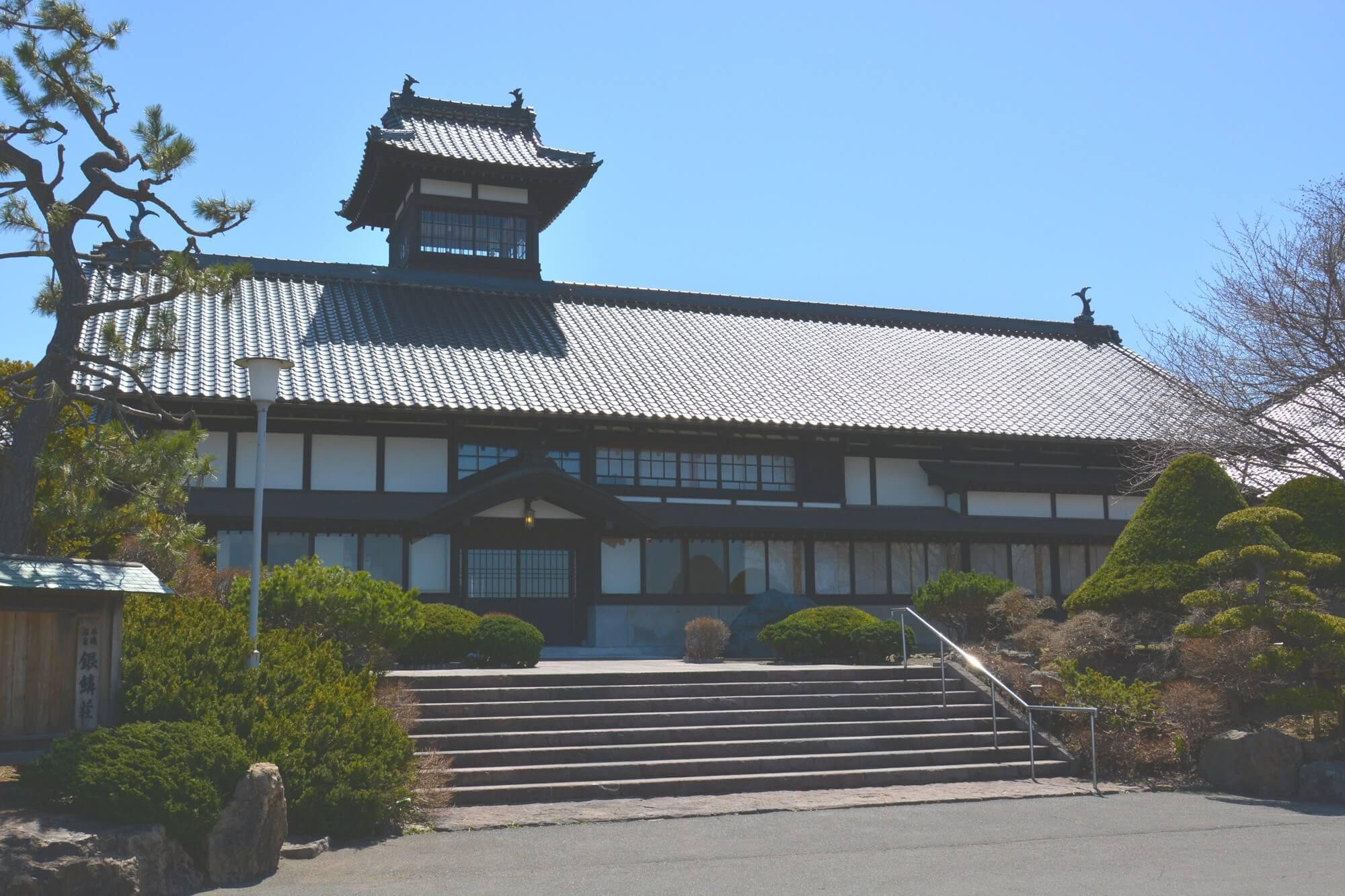 百年歷史溫泉旅館「銀鱗莊」