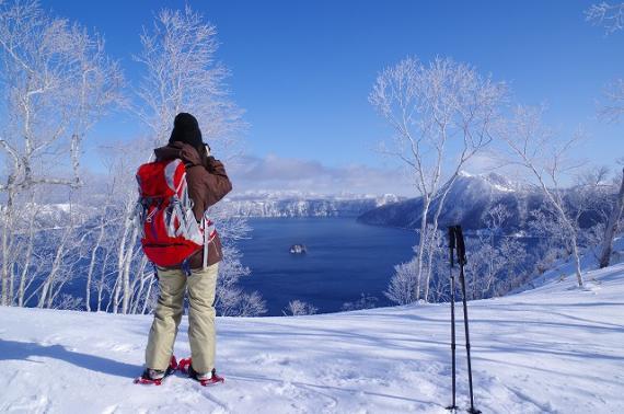 摩周湖絕景雪鞋自然之旅