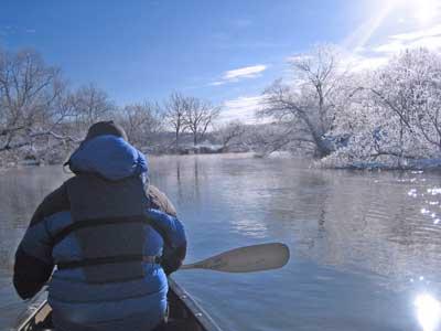 冬季釧路濕原划獨木舟之旅:白霜路線