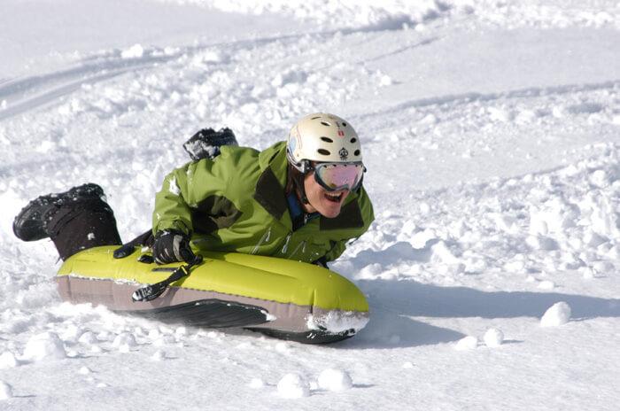 充氣浮板滑雪體驗