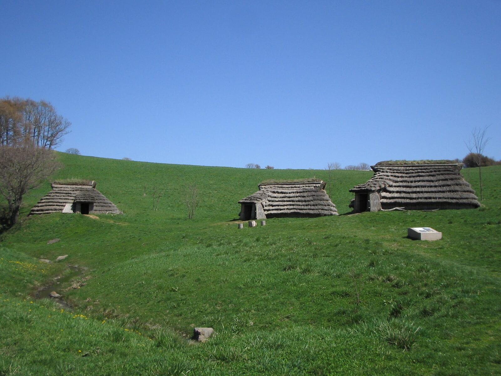 狩獵民族聚落的遺產「北黃金貝塚」