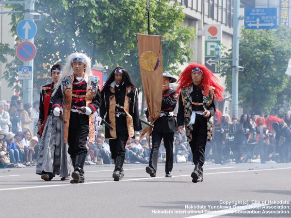 箱館五稜郭祭:5月中旬