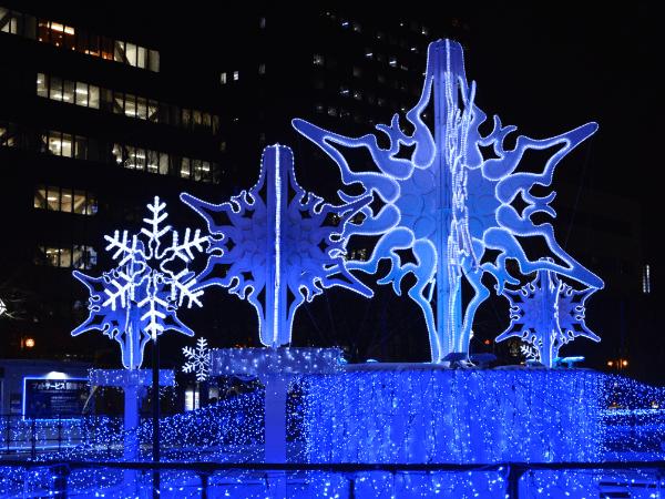 札幌白色燈飾節:11月下旬~2月中旬