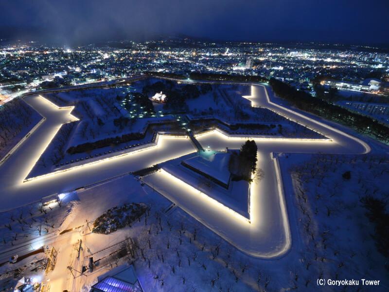 冬天函館的必看景點!冬天推薦觀光景點。