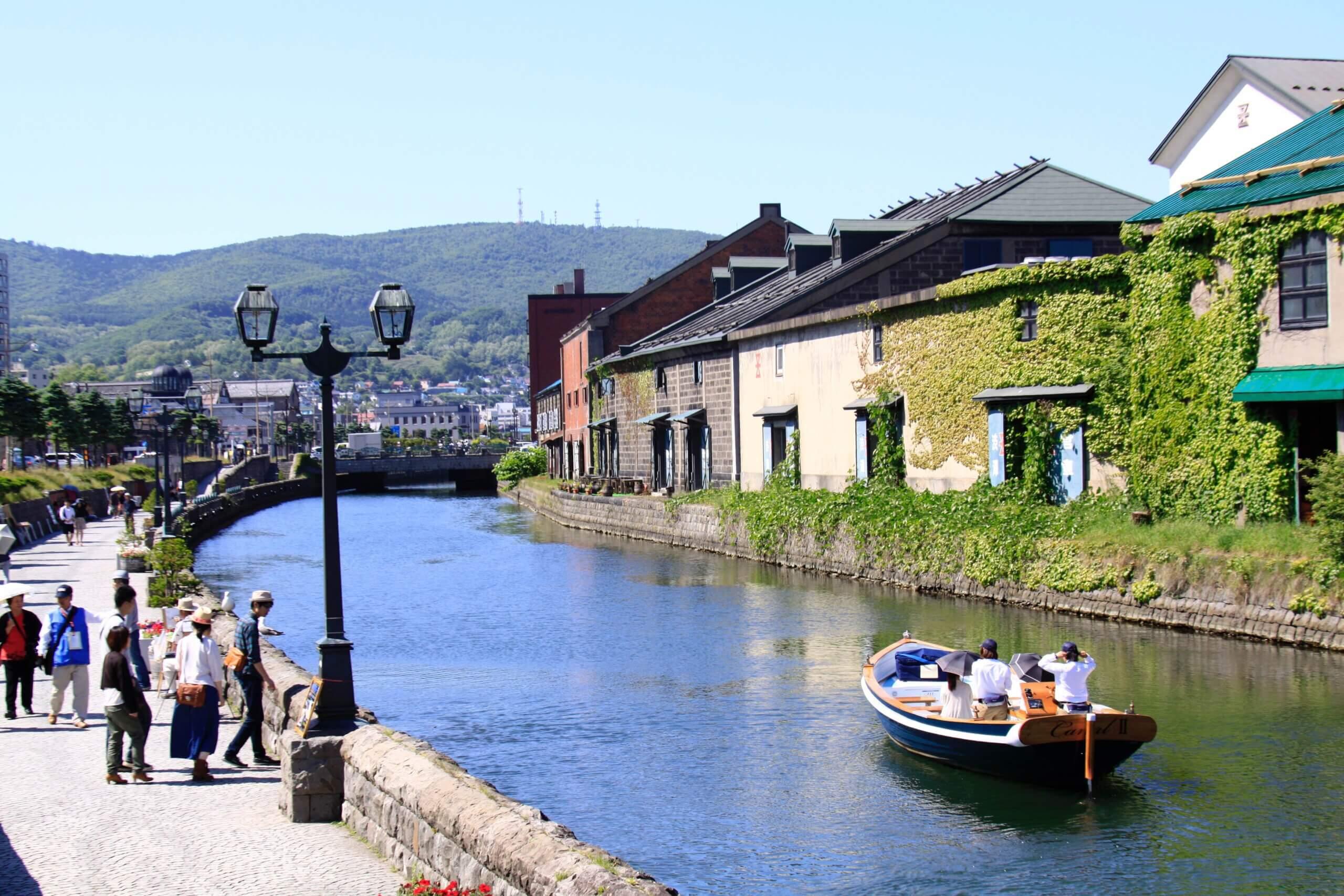 北海道經典水上活動「小樽運河遊船」