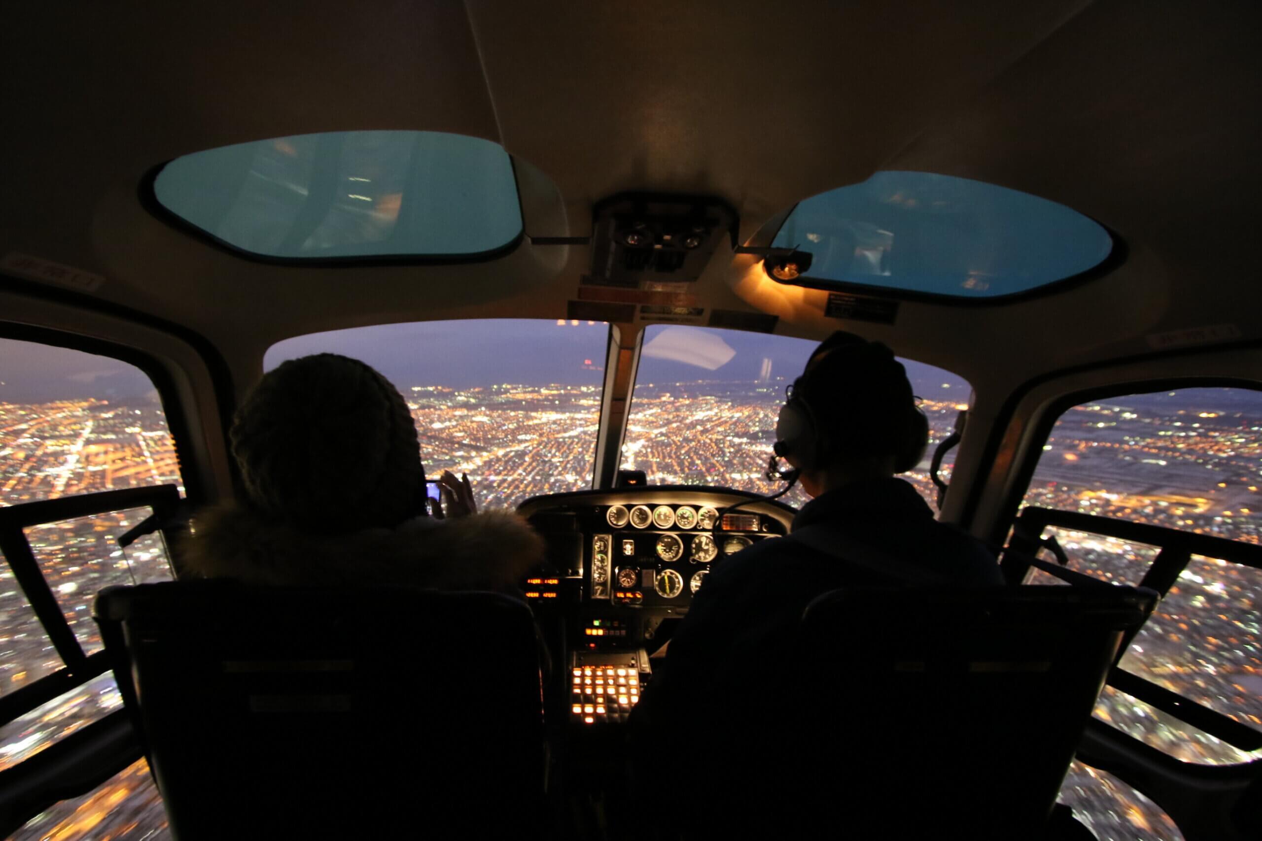 搭直昇機徜徉札幌天空「札幌空中遊覽飛行體驗」