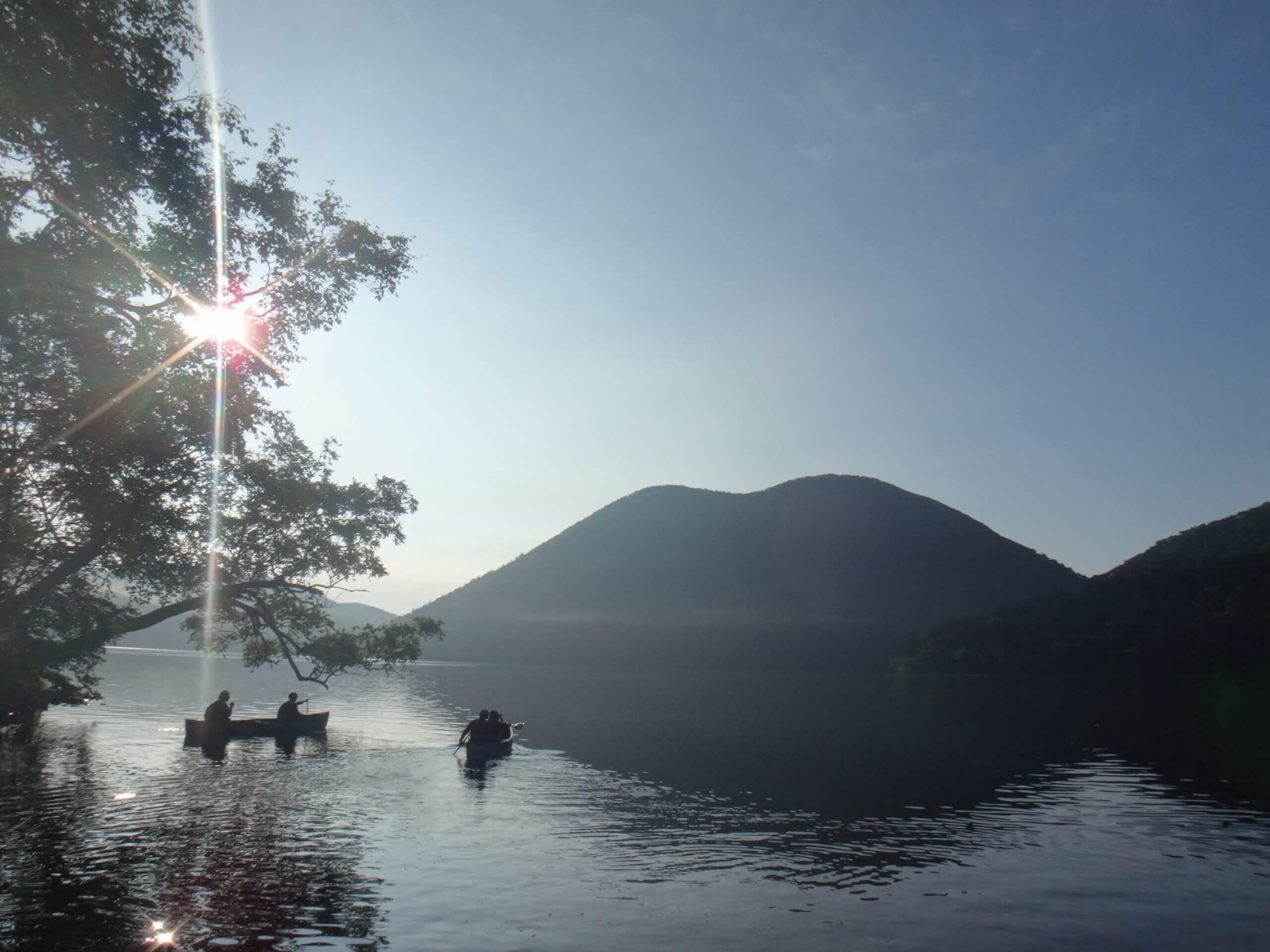 北海道海拔最高的湖泊「然別湖」