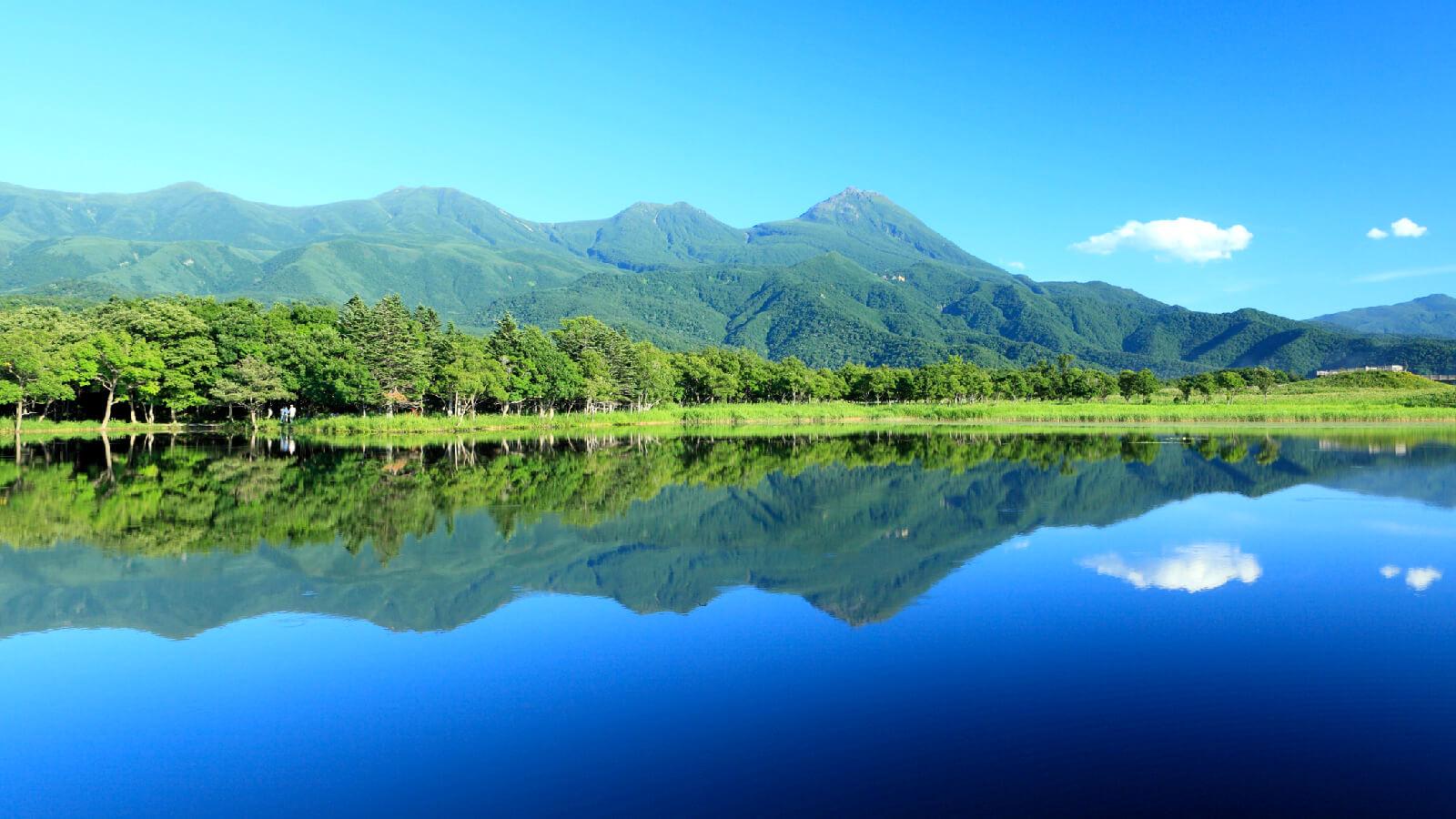 北國的世界自然遺產湖群「知床五湖」