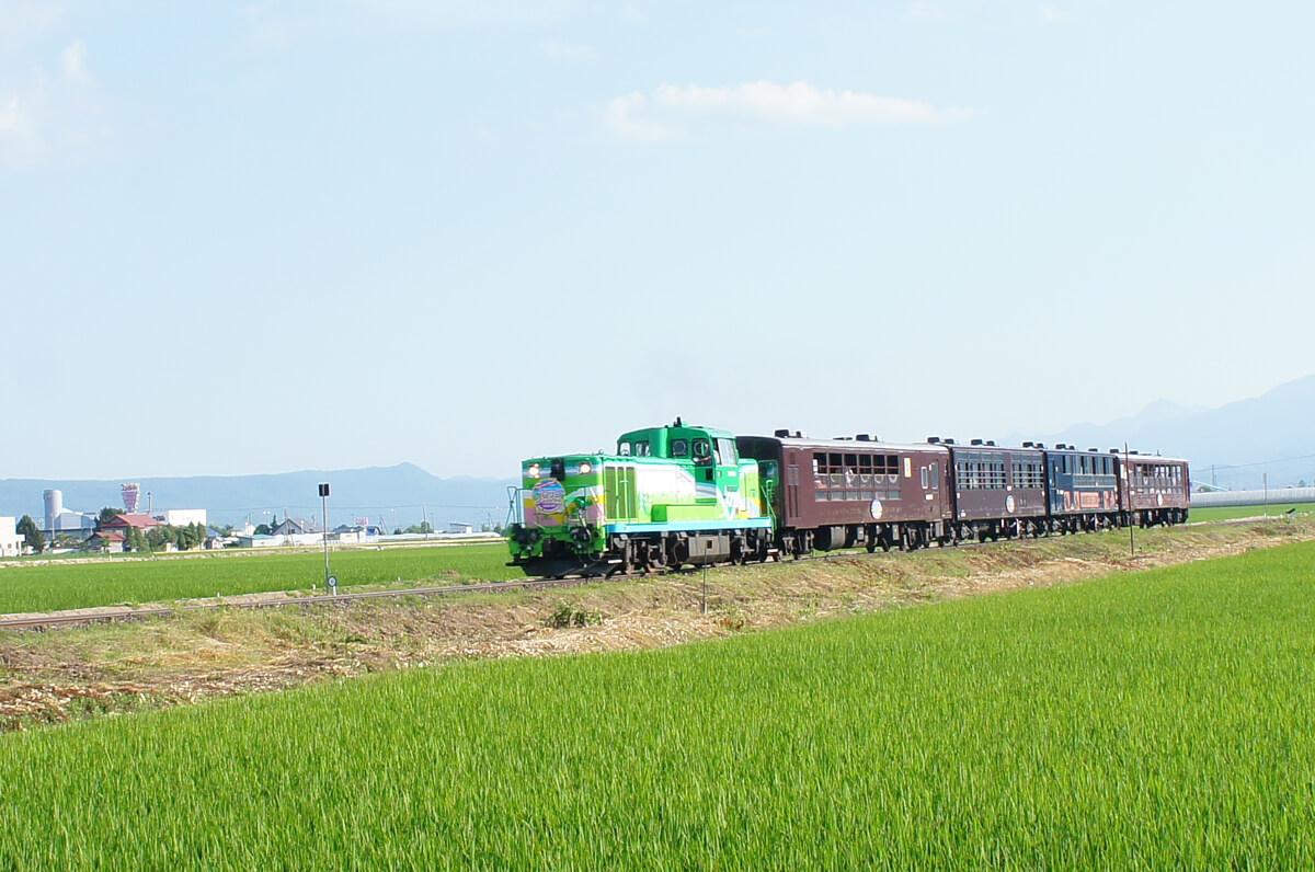 搭火車欣賞美瑛山丘的風景以及薰衣草花海「富良野・美瑛Norokko號」
