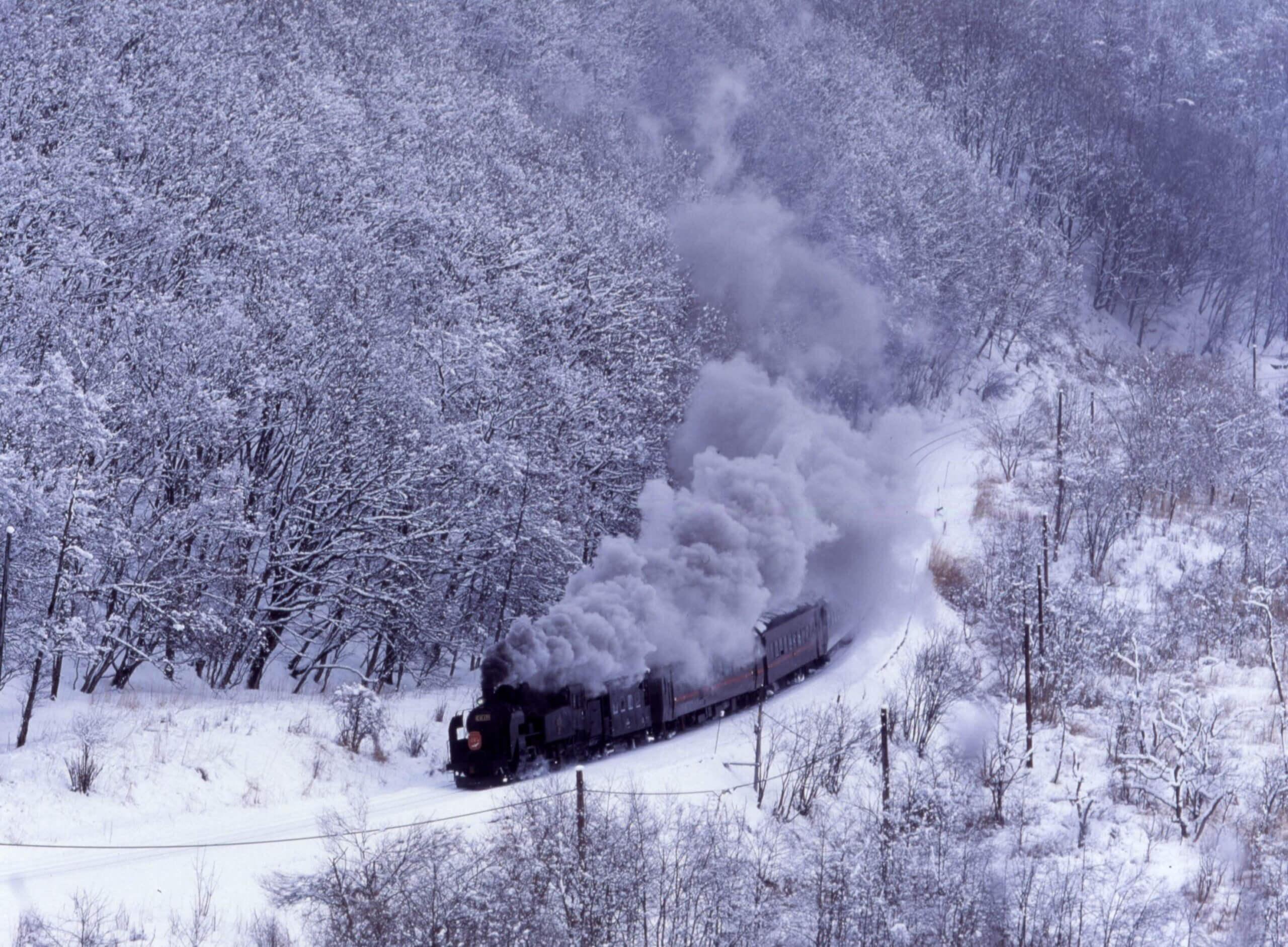 鐵道迷指定必訪名車!「SL冬季濕原號」