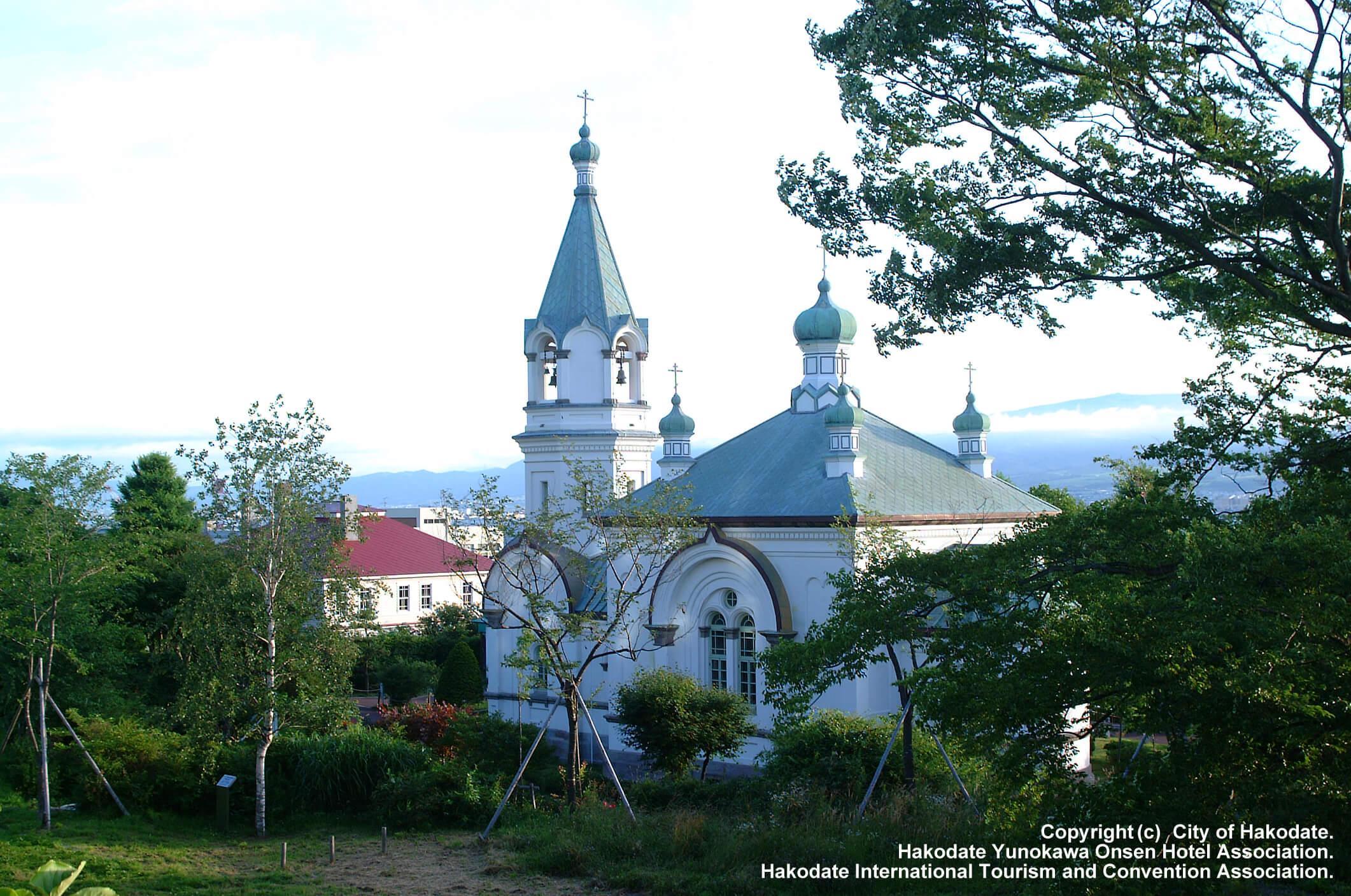 北海道函館・元町地區的教堂巡禮之旅