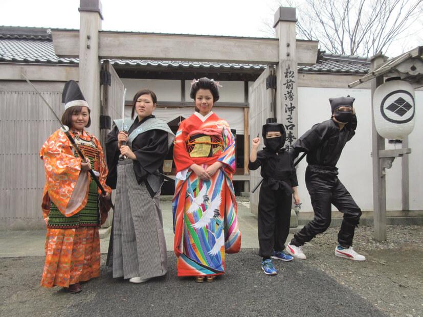 再現昔日繁華的城下町風情「松前藩屋敷」