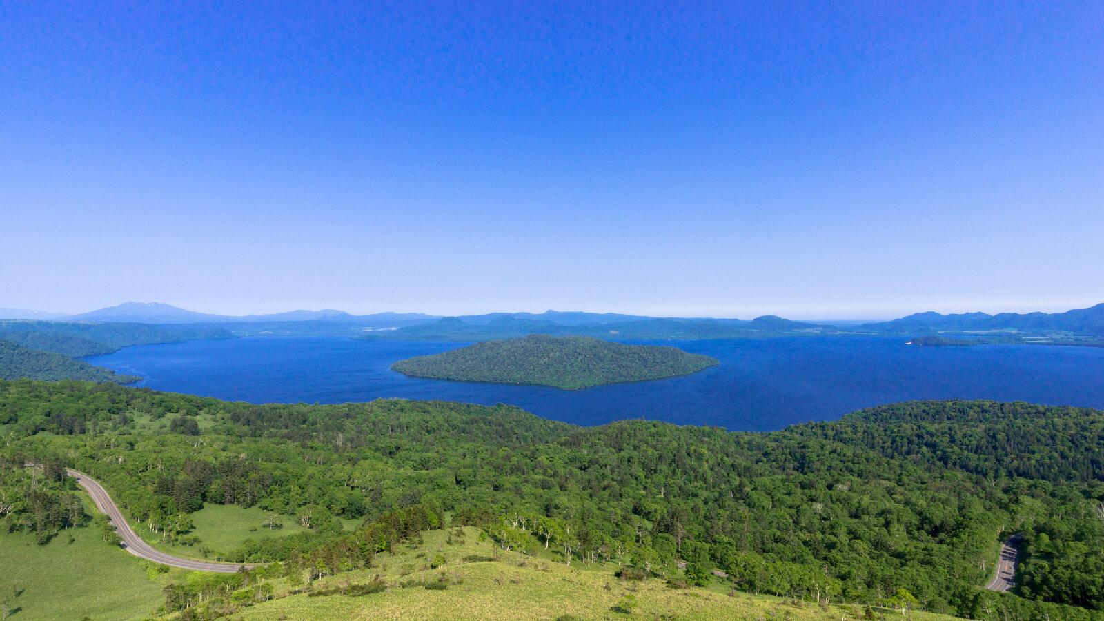 宛如天下絕景!從「美幌嶺」俯瞰屈斜路湖