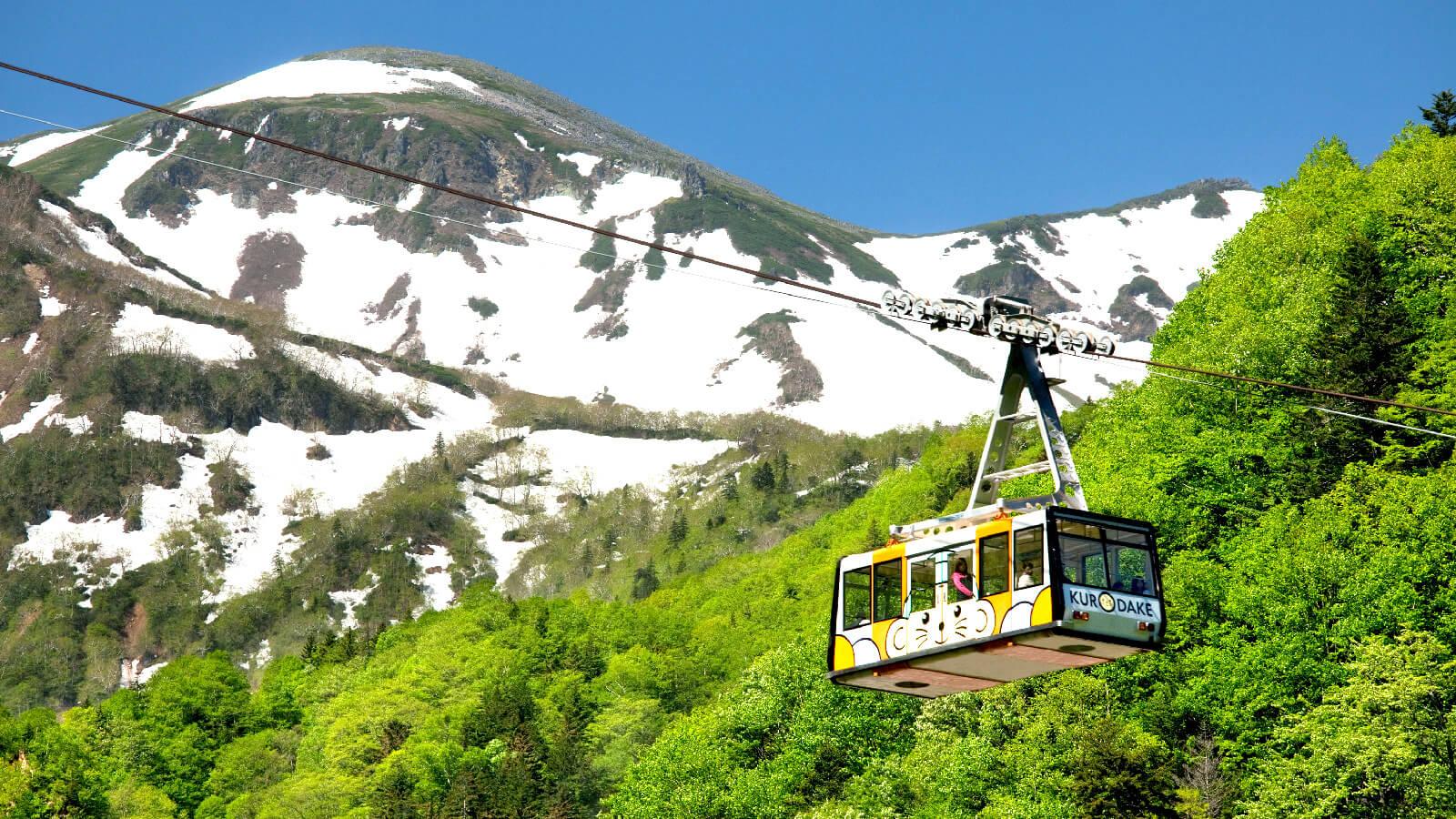 四季皆有不同景致!大雪山層雲峽・黑岳纜車