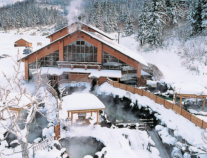 富良野的秘境溫泉:吹上露天溫泉