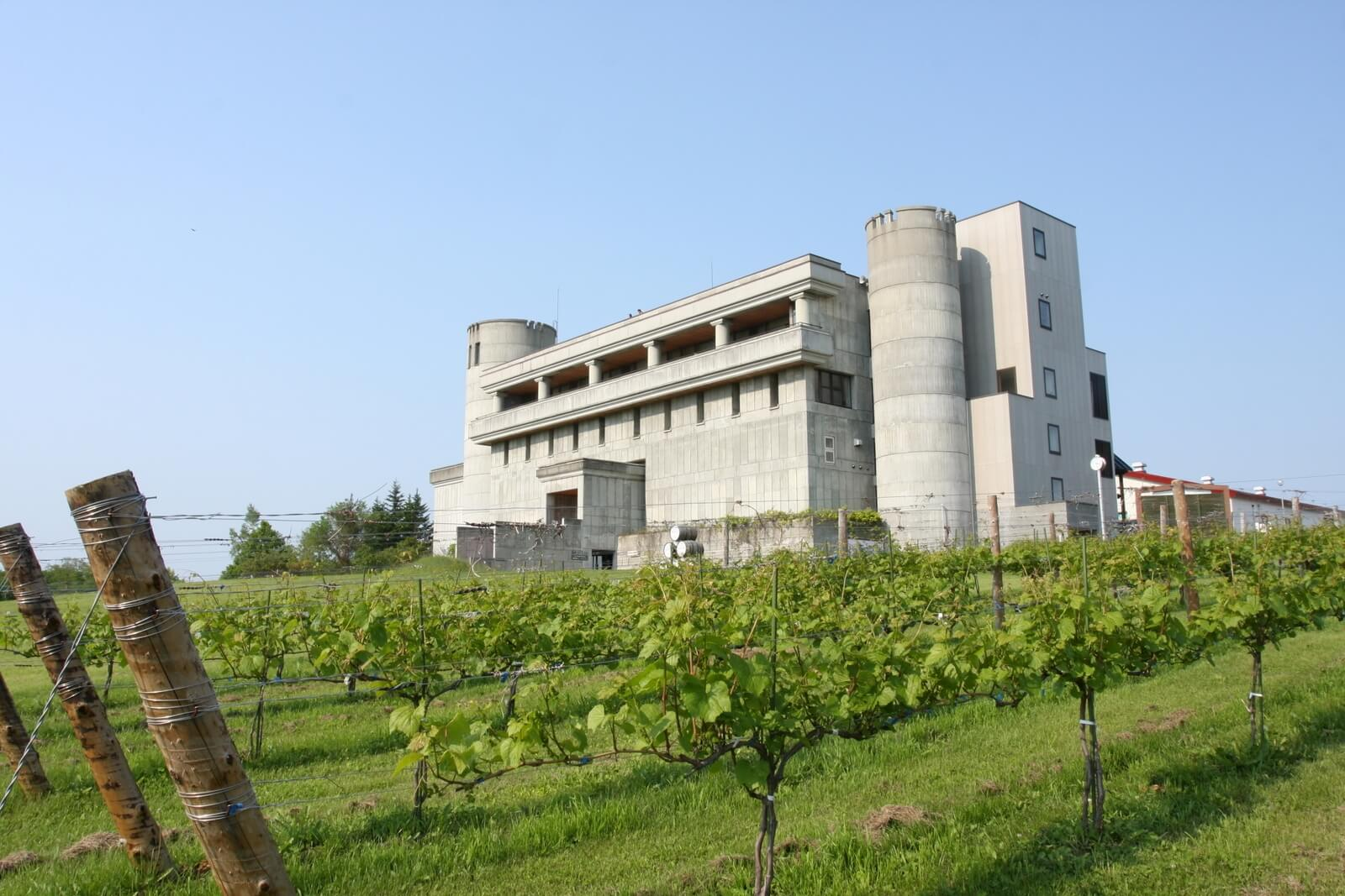 宛如造訪中世紀的歐式城堡:池田町葡萄&葡萄酒研究所(池田葡萄酒城)