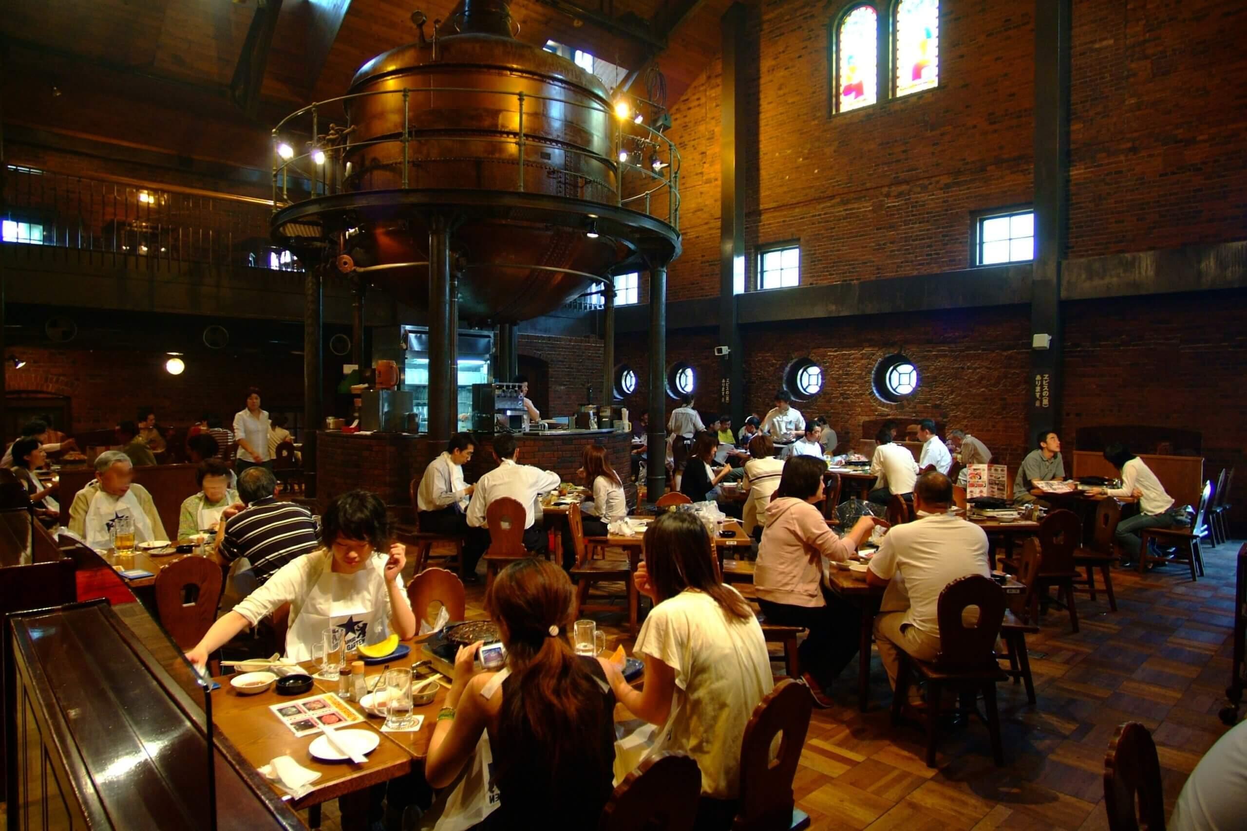適合大口吃肉大口喝酒的好去處「札幌啤酒園」