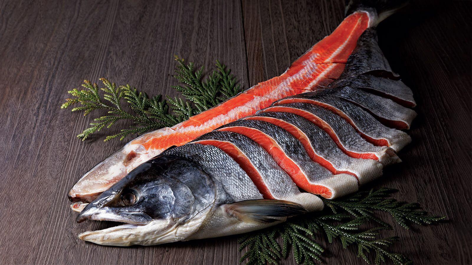全球唯一使用天然鮭魚製成的原創產品「佐藤水產 鮭魚工廠」