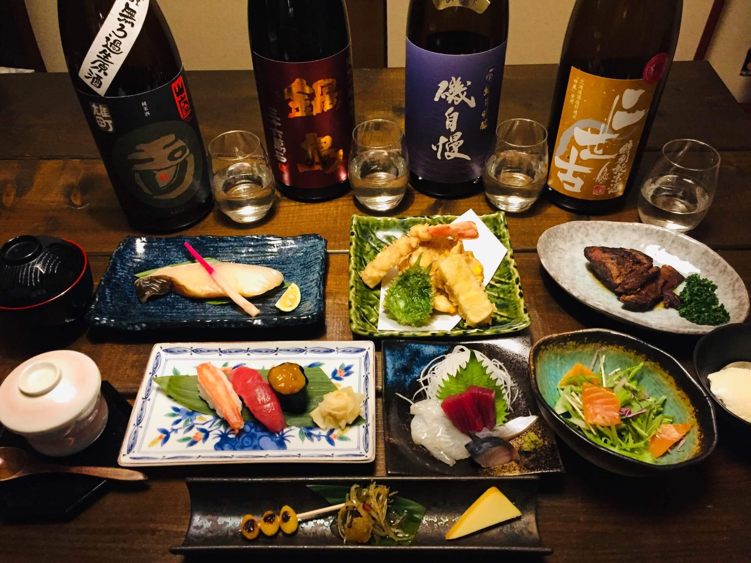 體驗以函館的新鮮食材製作壽司「旬鮮酒家 櫻路」