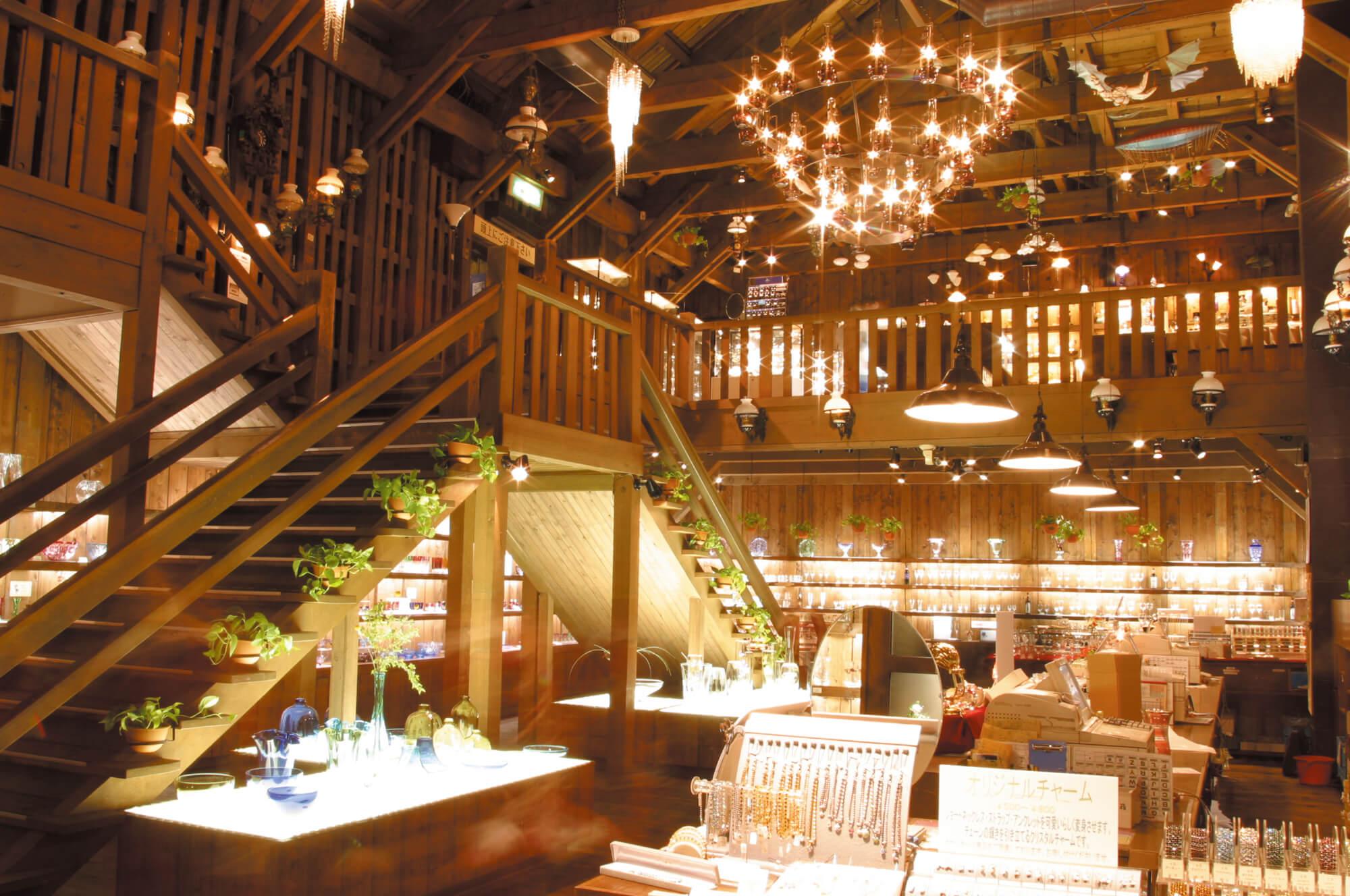 明治時期漁業用倉庫改建咖啡廳「北一硝子三號館 北一廳」