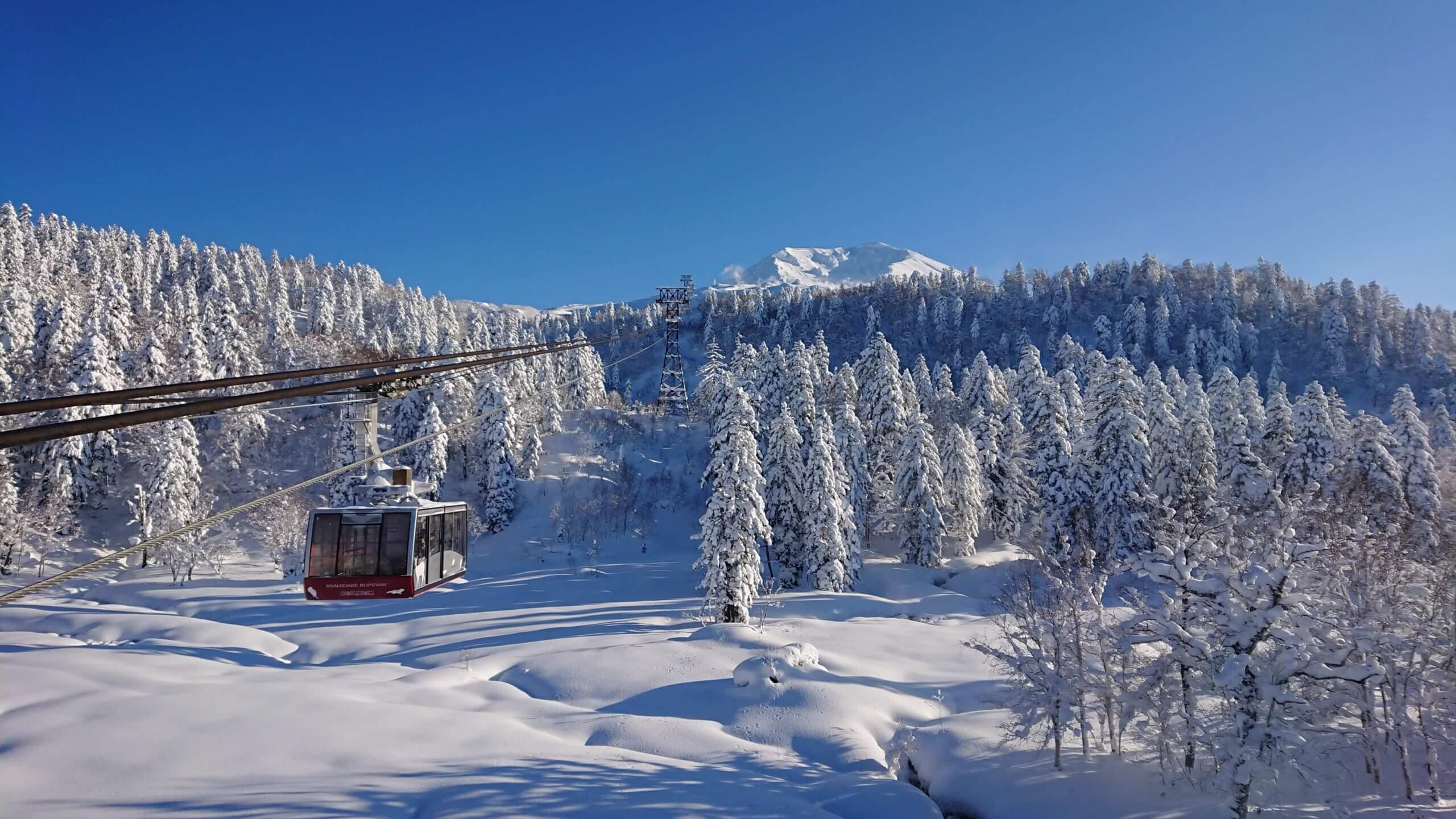 大雪山旭岳纜車:俯瞰大雪山旭岳的壯闊風景!