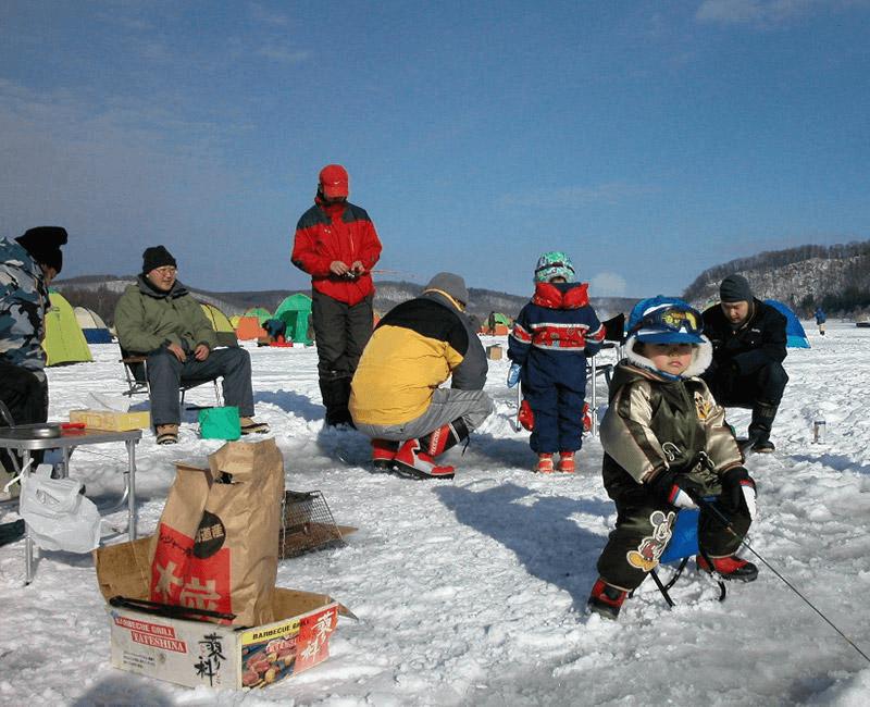 冬季限定!網走湖冰上釣西太公魚體驗
