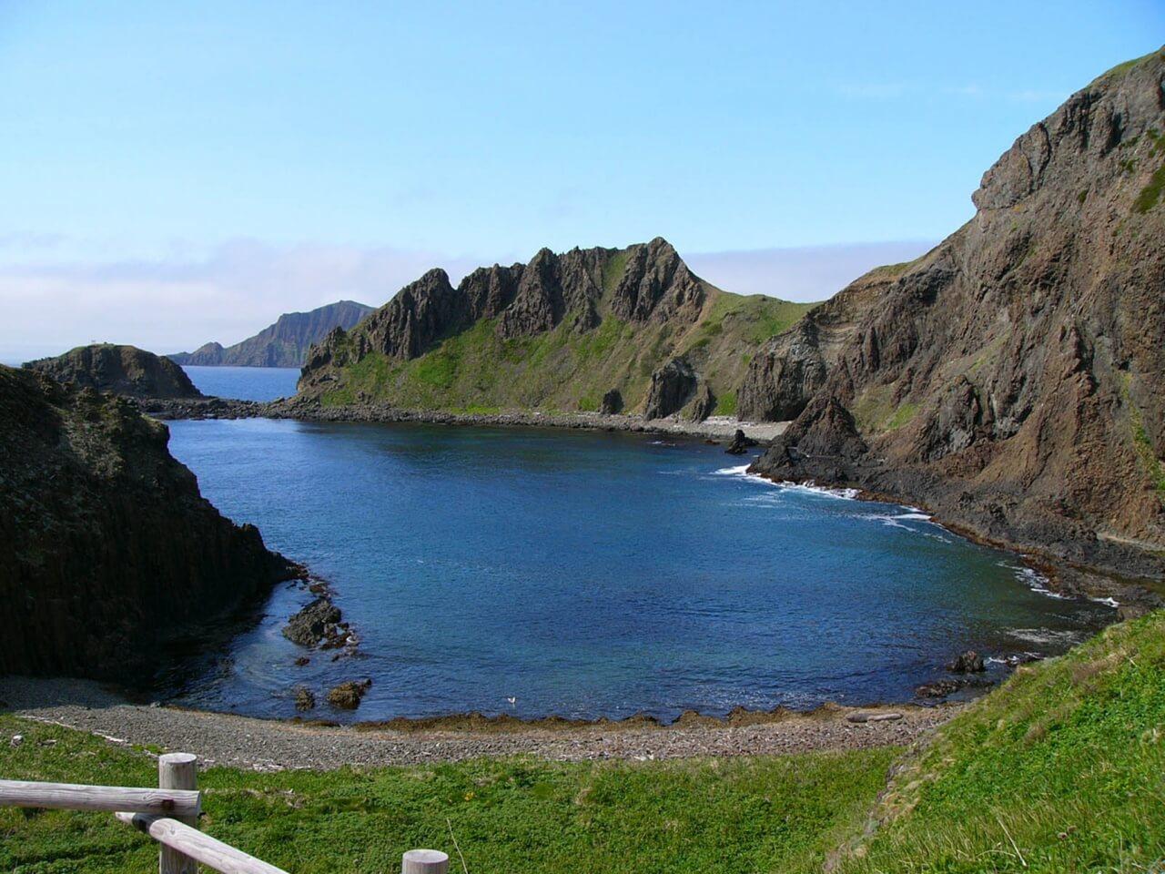 澄海岬:眺望日本最北端島嶼禮文島的鈷藍海岸