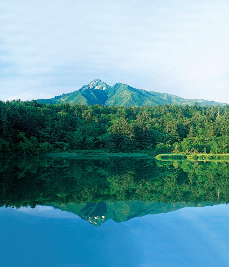 姬沼:欣賞利尻富士山倒影絕景