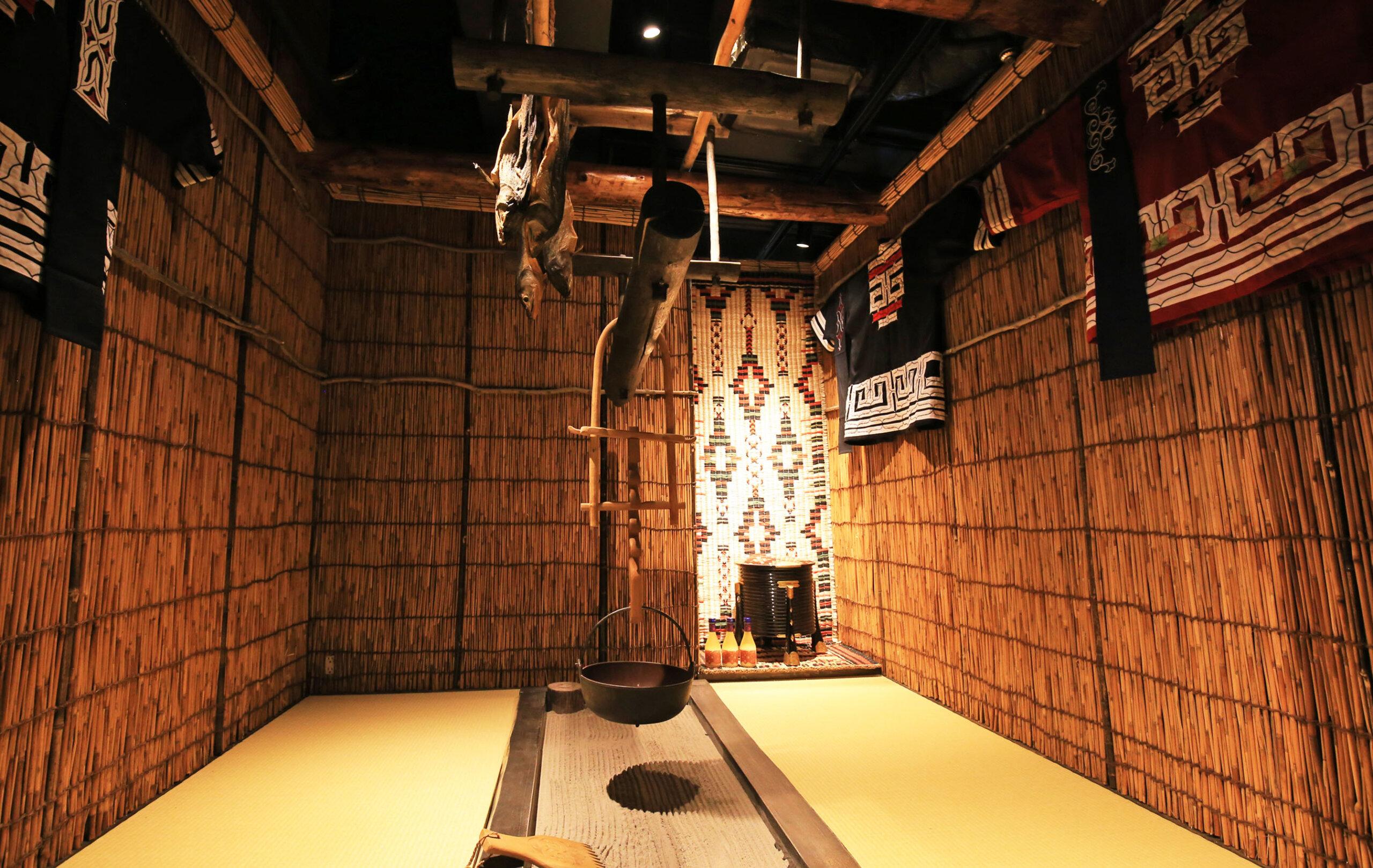 能體驗愛努文化和品嚐北海道美酒的美食餐廳