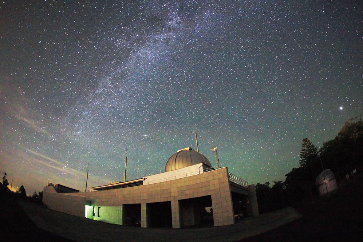 日本最大規模的開放型天文台「銀河之森」