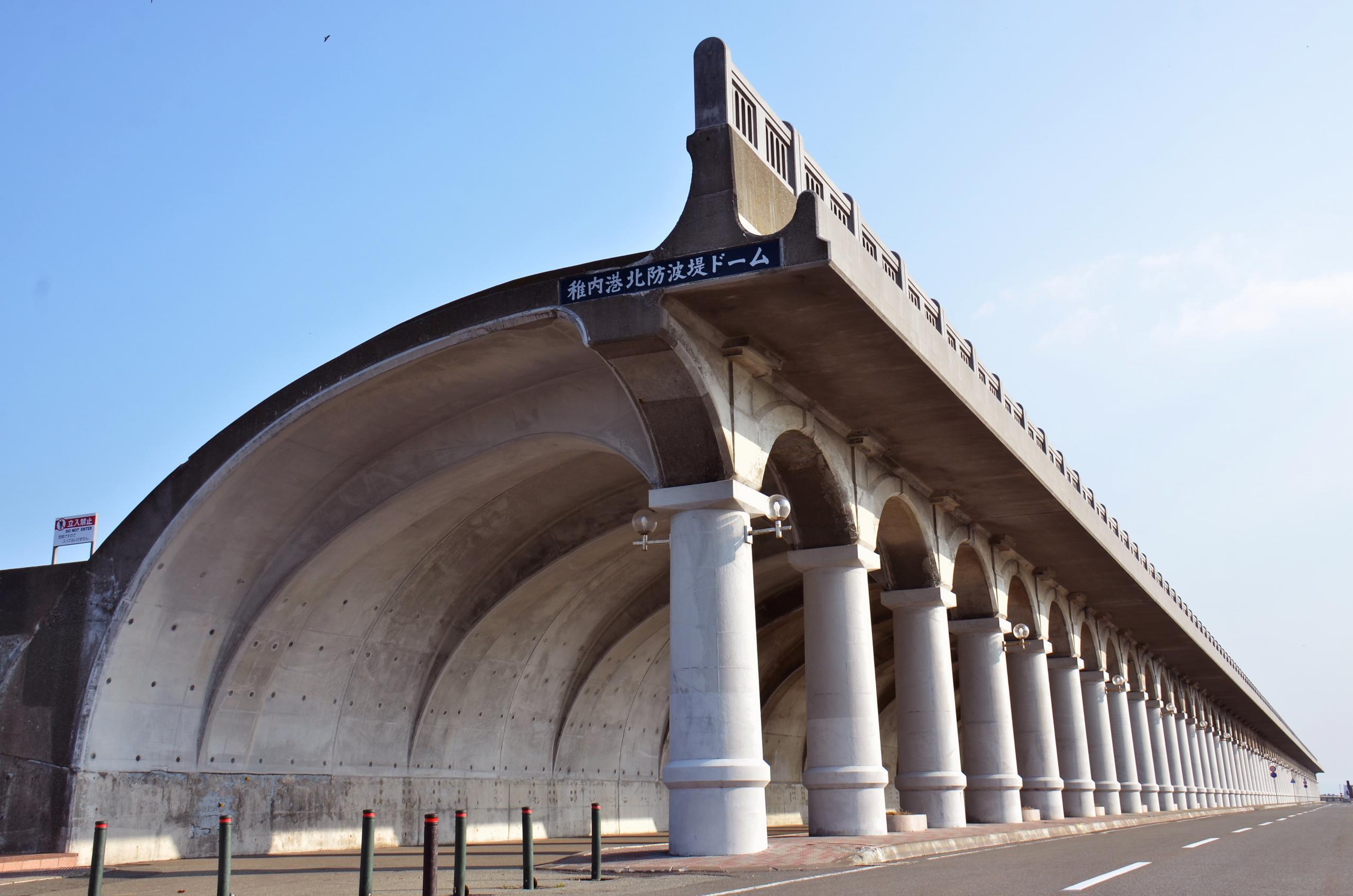 稚内港北防波堤圓頂:直線與曲線相互交織的建築美景!來防波堤感受當地的歷史人文
