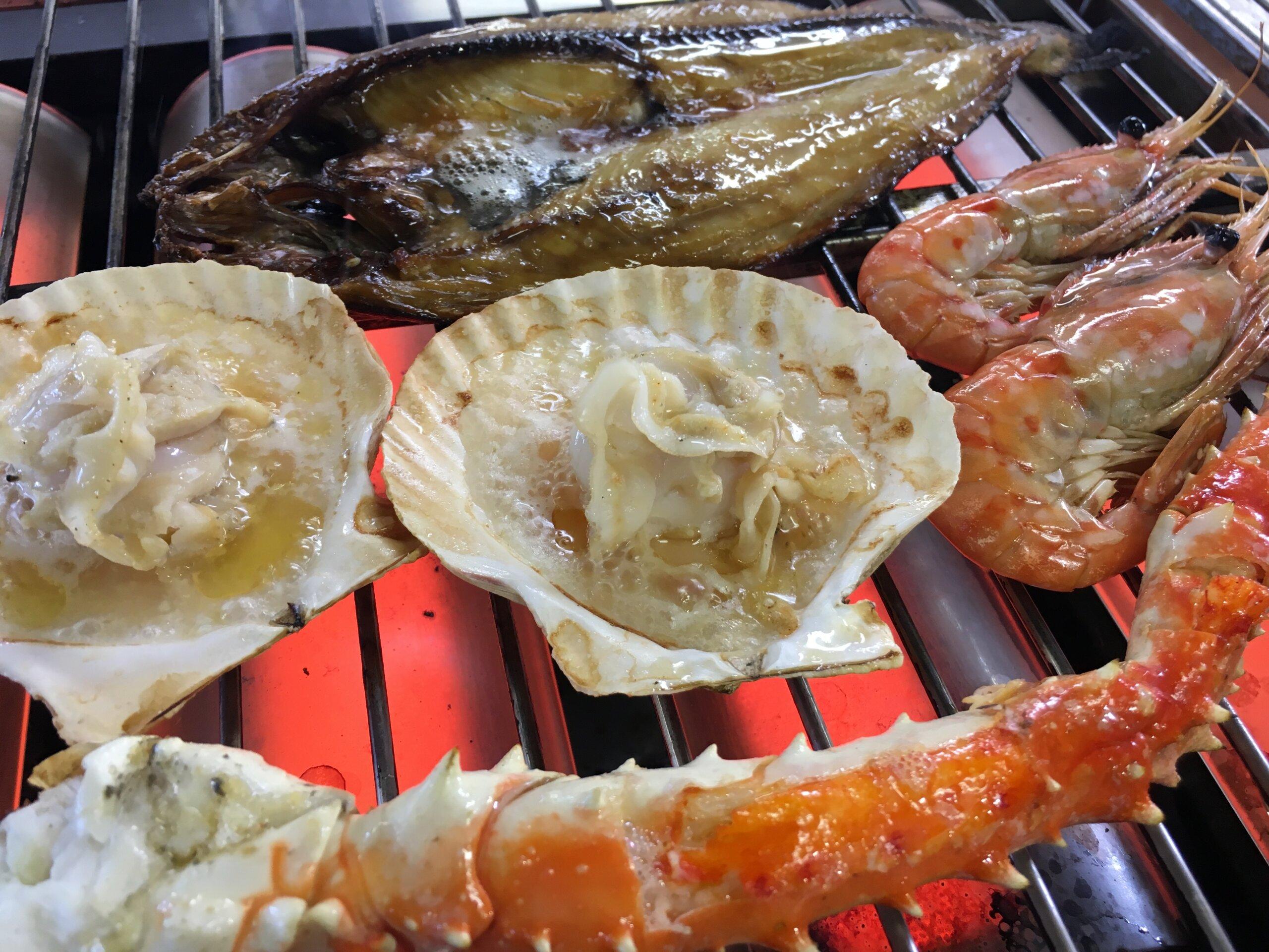 MARUKAICHI水産 海鮮爐端燒:水產公司直營燒烤店!來品嚐凝聚滿滿海味的海鮮燒烤