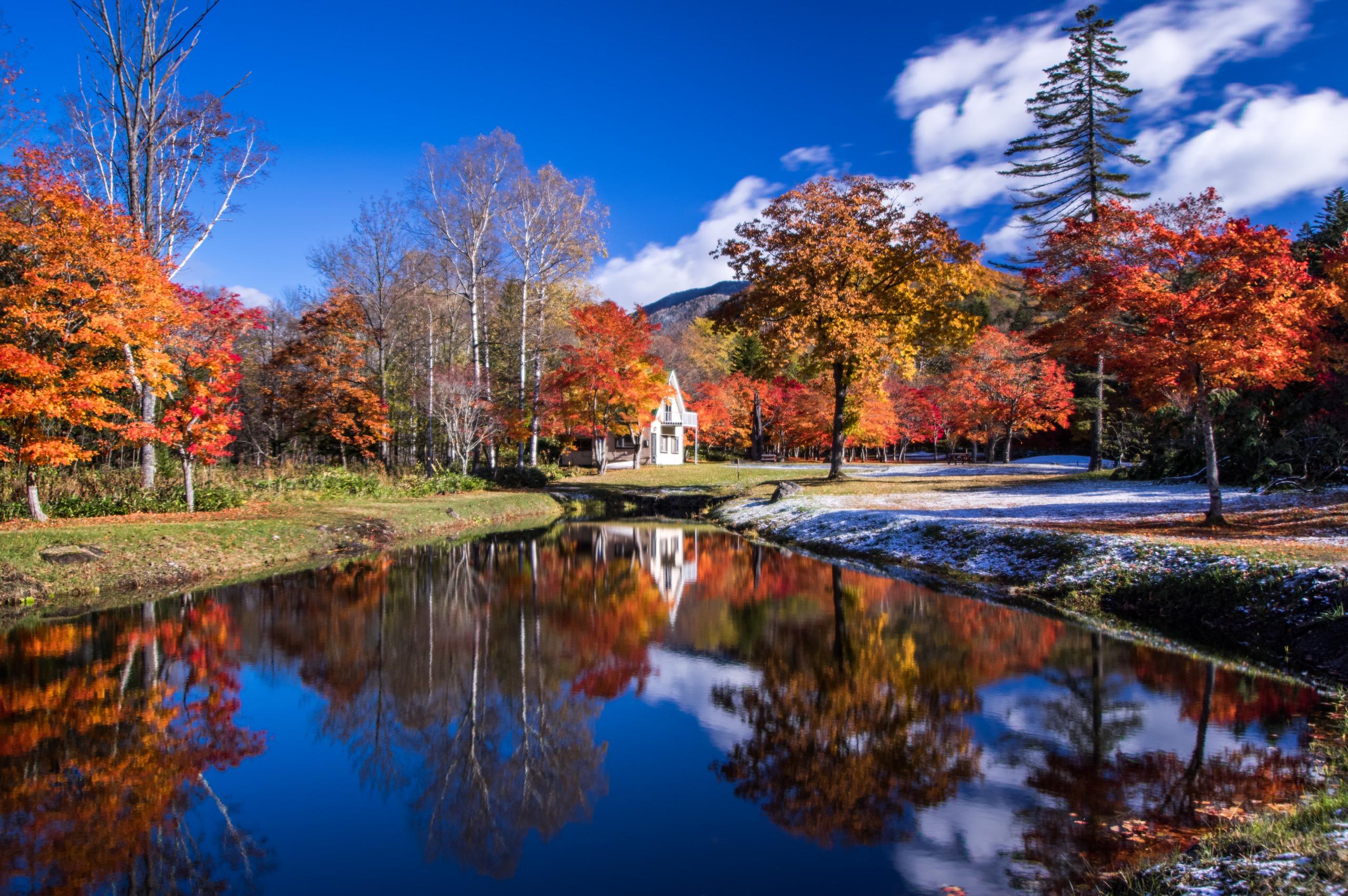 福原山莊:秋季限定開放!被紅葉溫暖包圍的休憩山莊