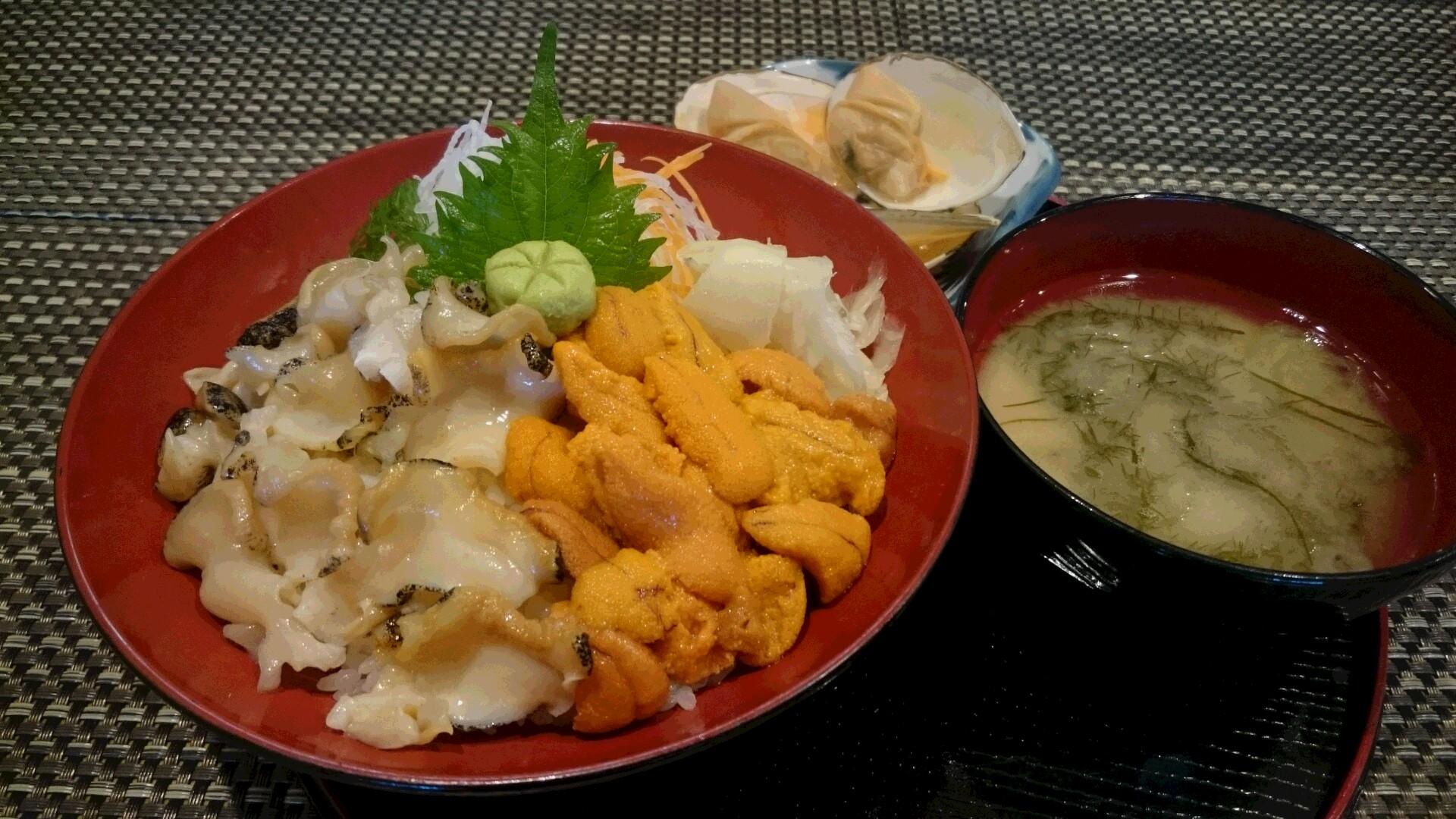 女郎花餐廳:享受春季海膽以及當地自豪的北海道峨螺刺身