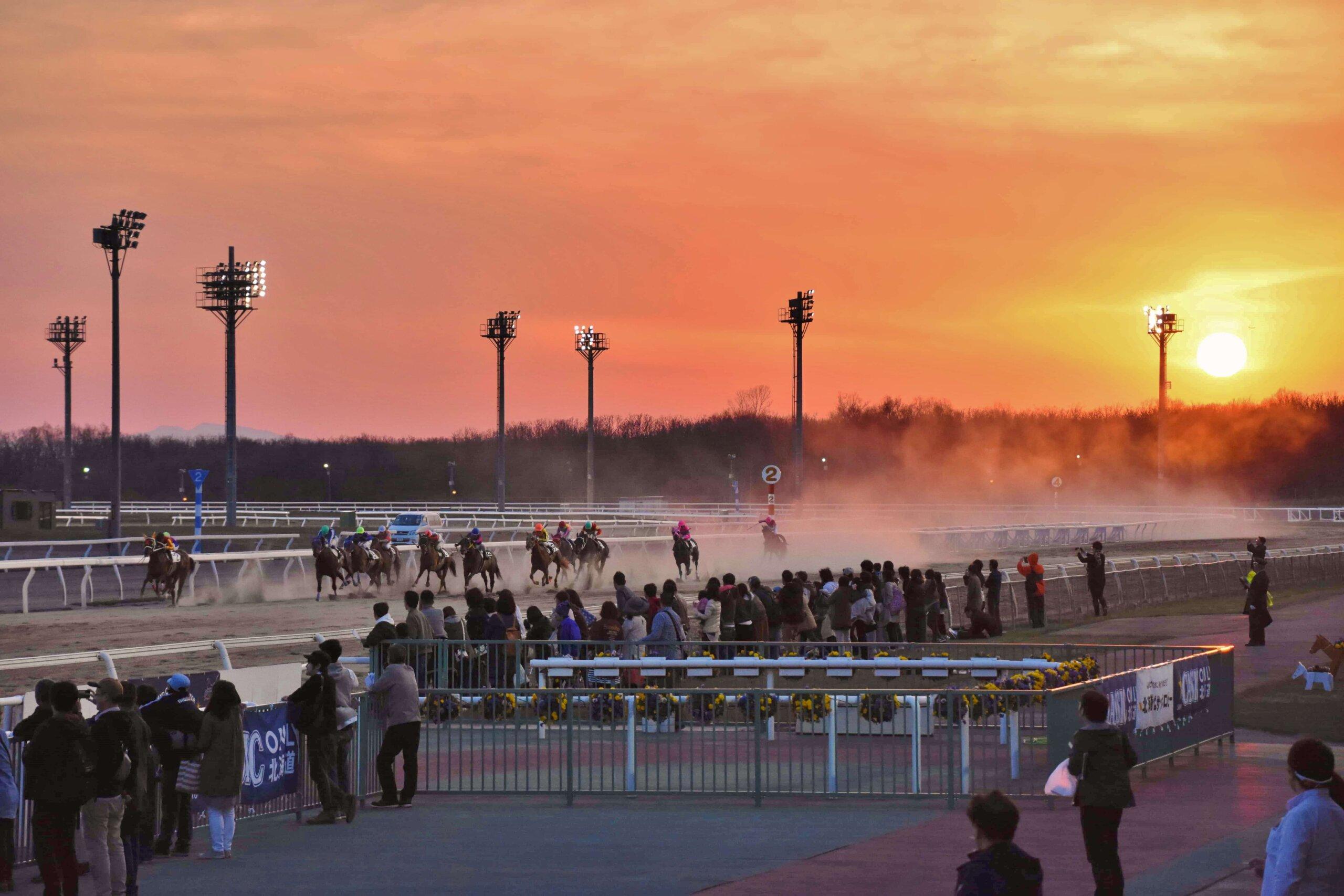 門別競馬場:親自見證日高地區、充滿臨場感的賽馬比賽!