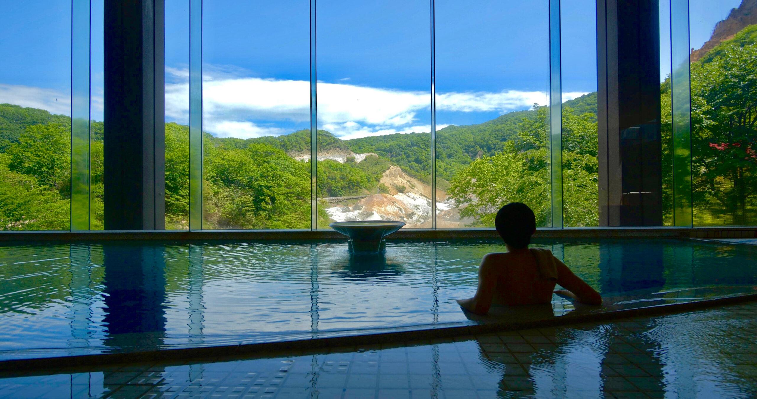 第一瀧本館:多種溫泉一次享受!男用大浴池擁有多達5種溫泉泉質