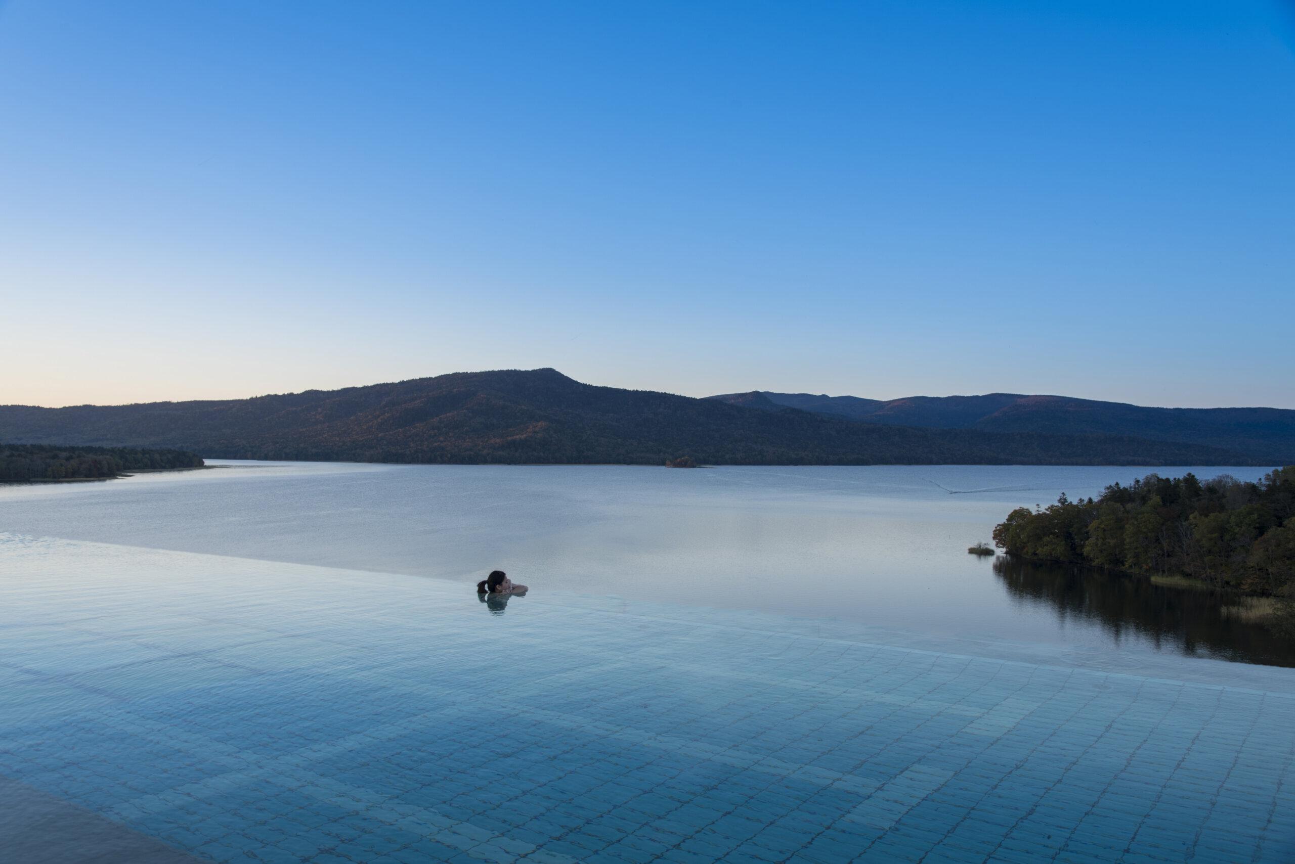 享盡阿寒湖的大自然景觀的溫泉渡假飯店