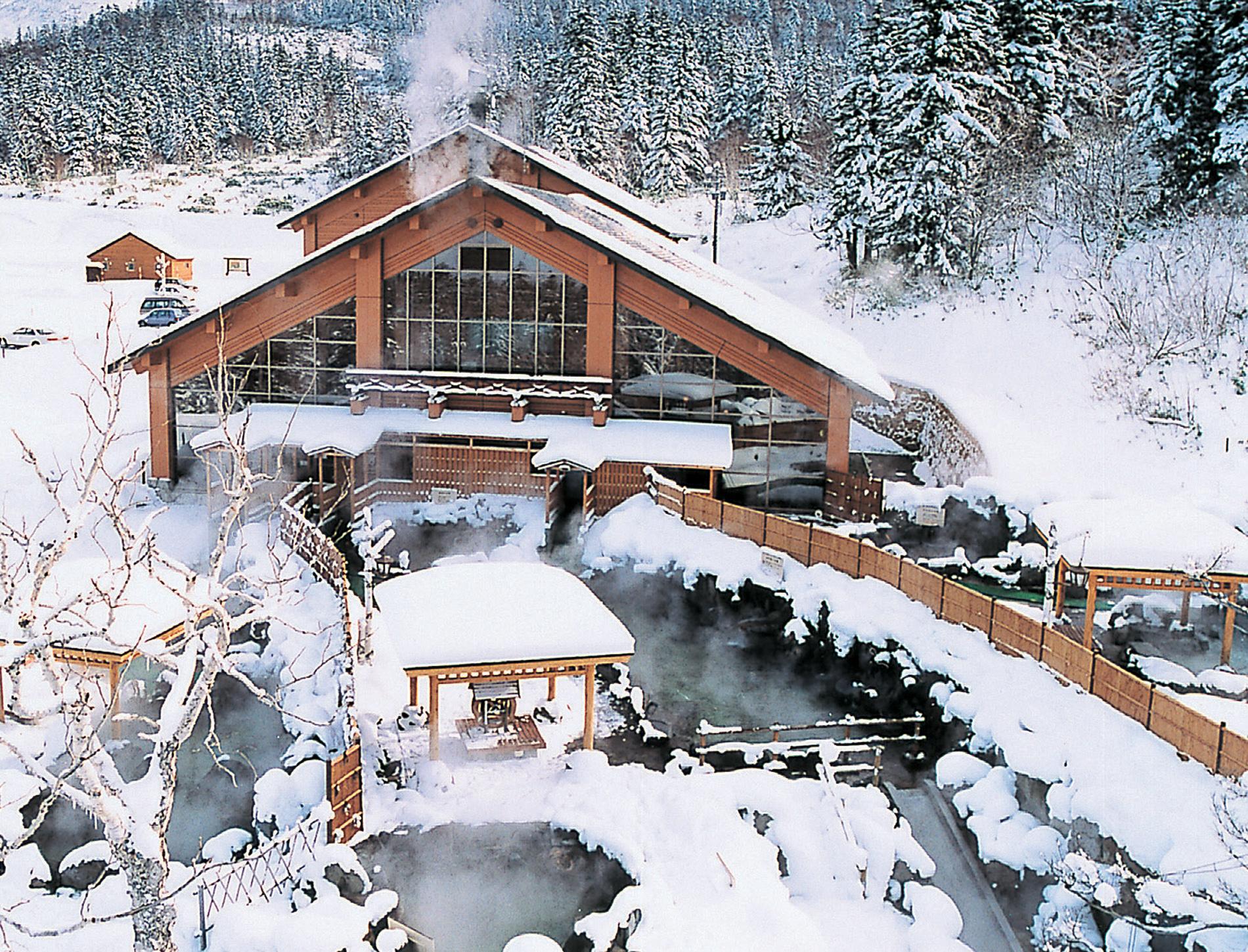 吹上溫泉保養中心 白銀莊:引以為豪!數量多達12個浴池的露天溫泉