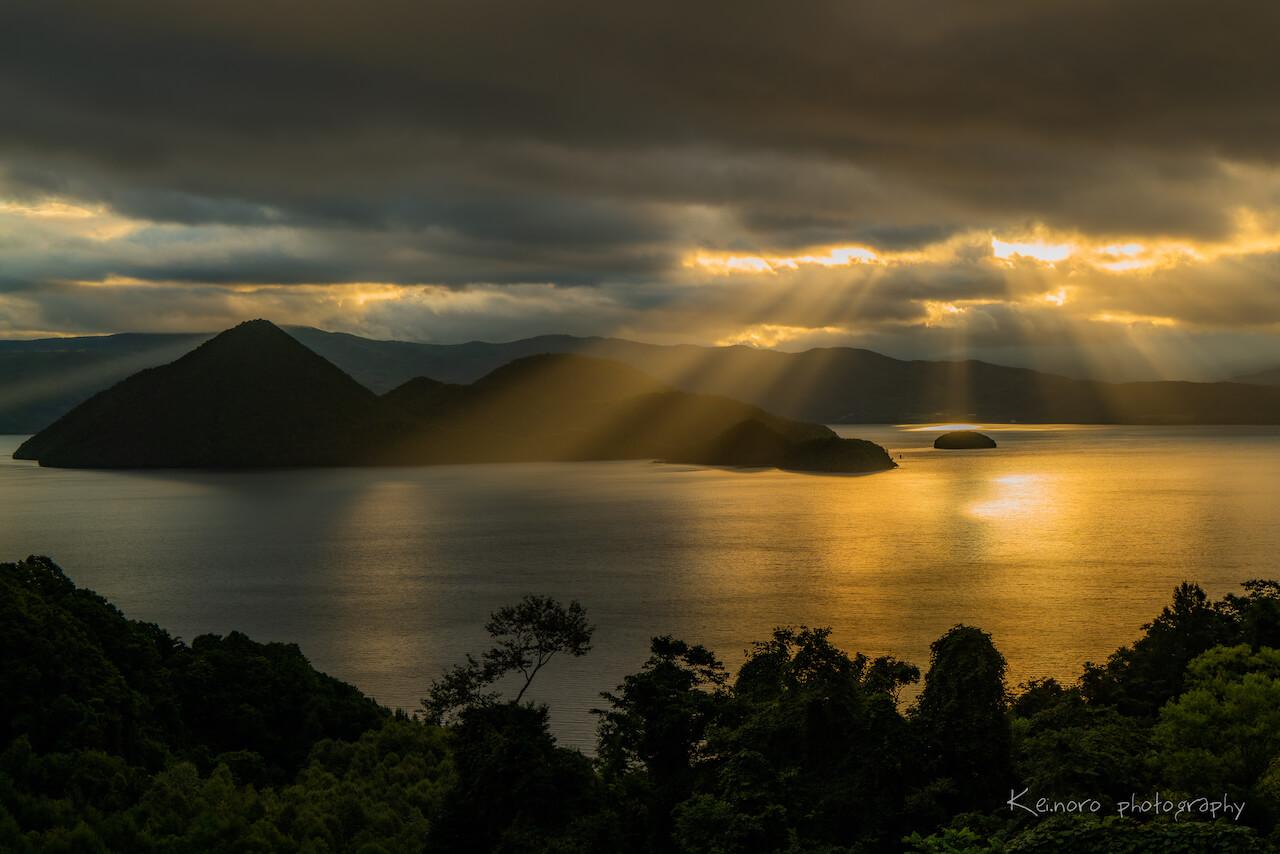景色隨季節與時間變換的神祕之湖「洞爺湖」美景的拍攝方法