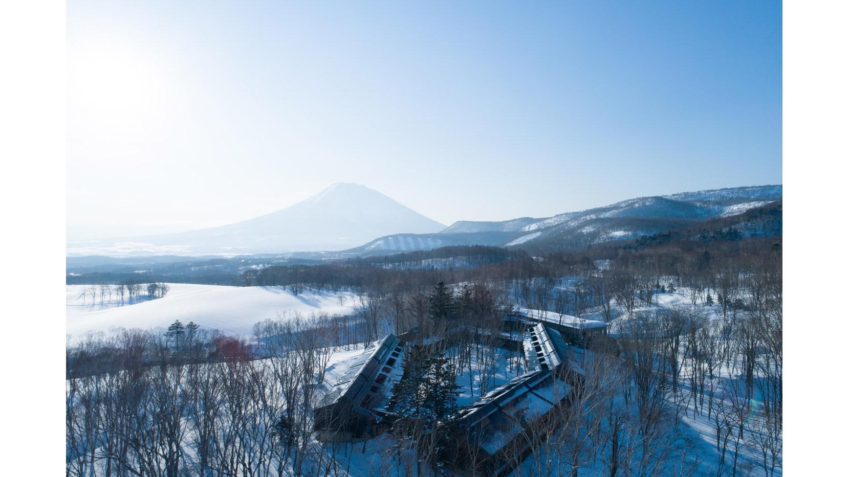 晴天時可以在此眺望羊蹄山的美景。